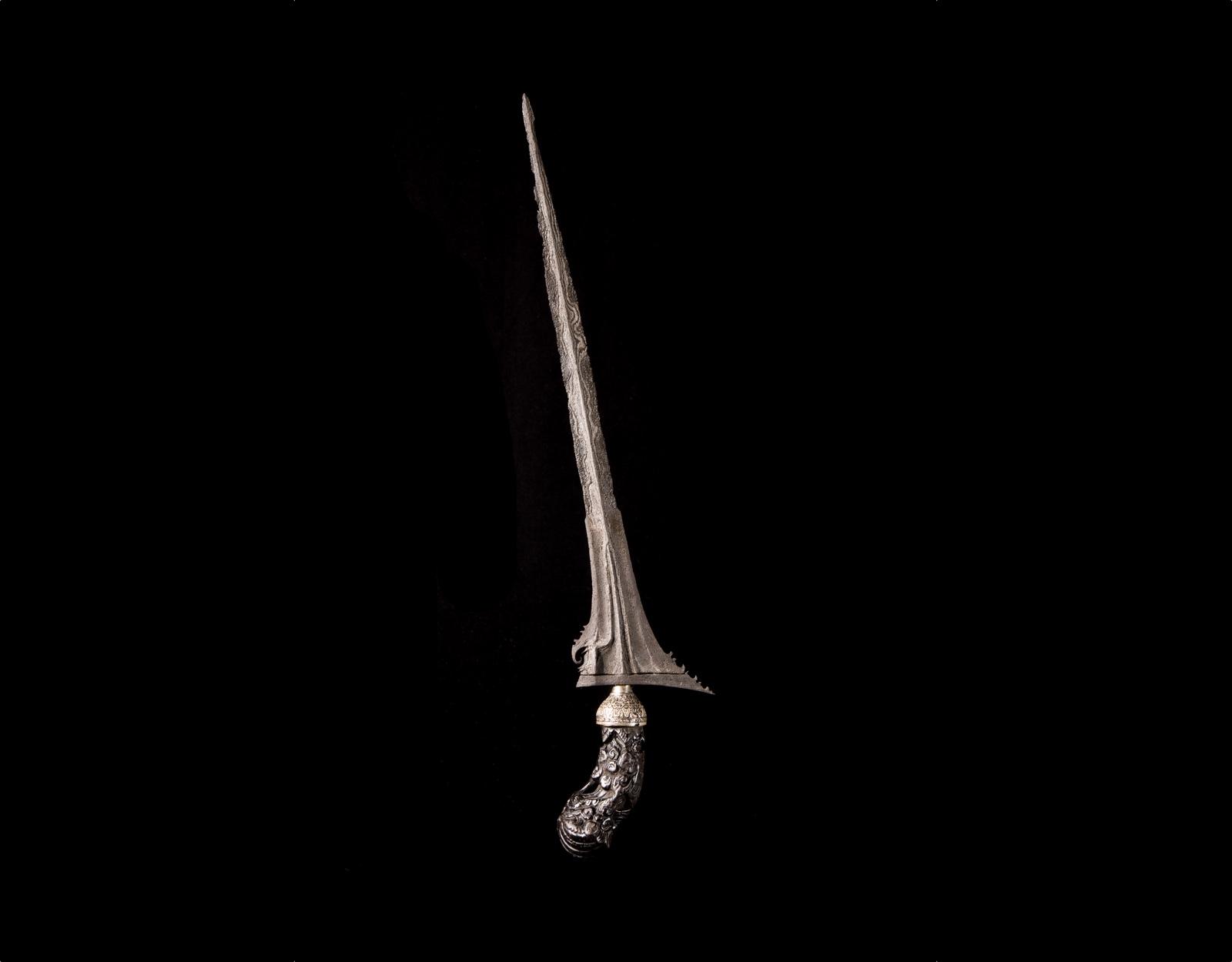 Кинжал Крис Sinom Robyong, стихия Смерть фото VipKeris