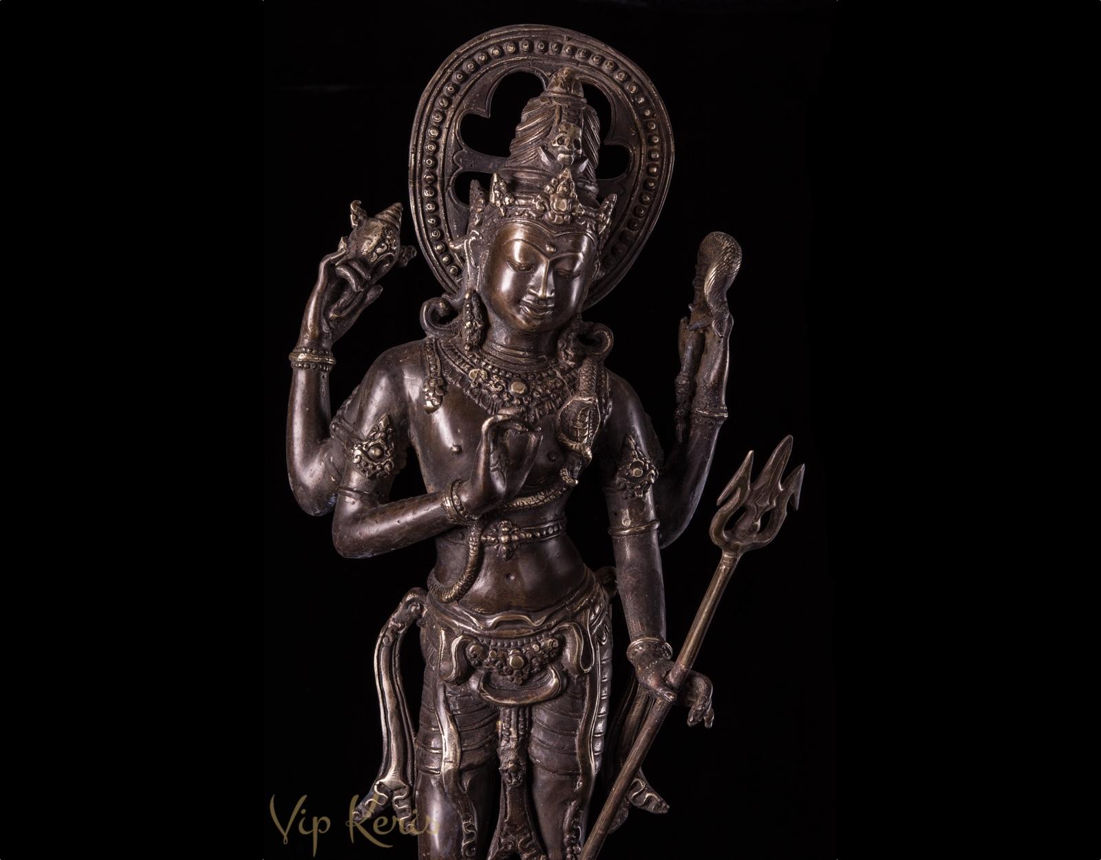Бронзовая статуя Шива, 70cm фото VipKeris