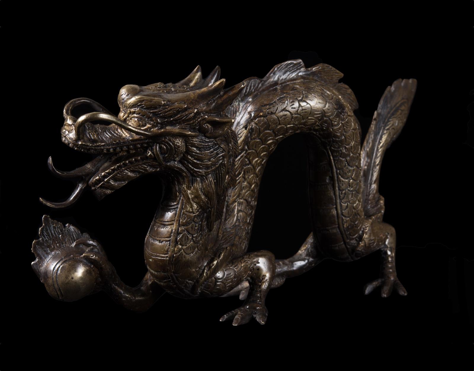 Бронзовая статуэтка Naga фото VipKeris
