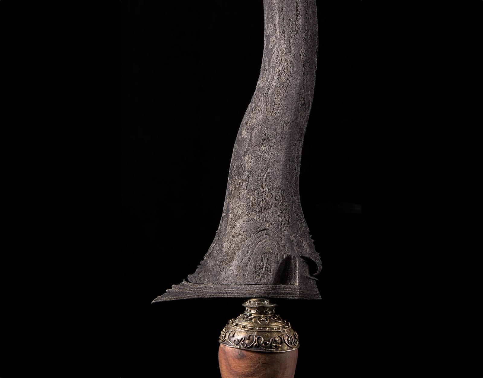 Бугийский кинжал Крис Jaran Goyang фото VipKeris