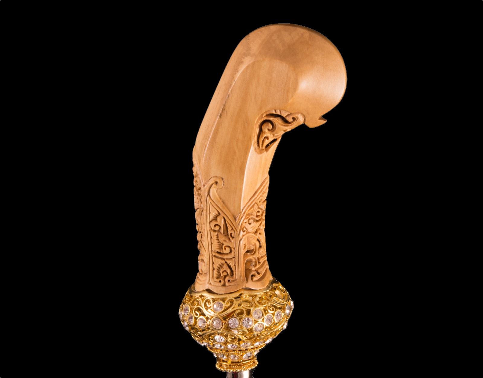Комплект ножны ладранг, рукоять, мендак селут.  фото VipKeris