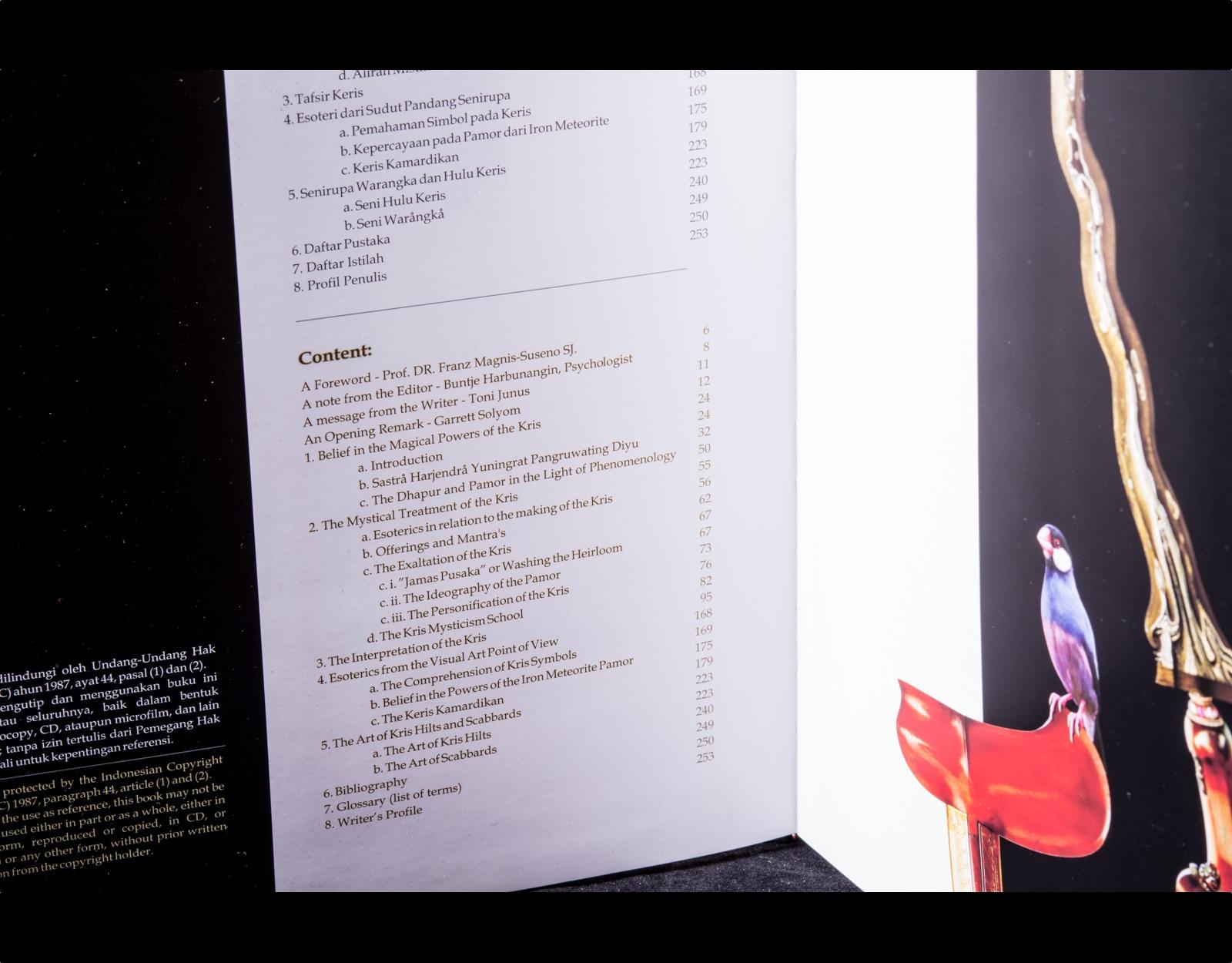Книга о Криса - Tafsir Keris фото VipKeris