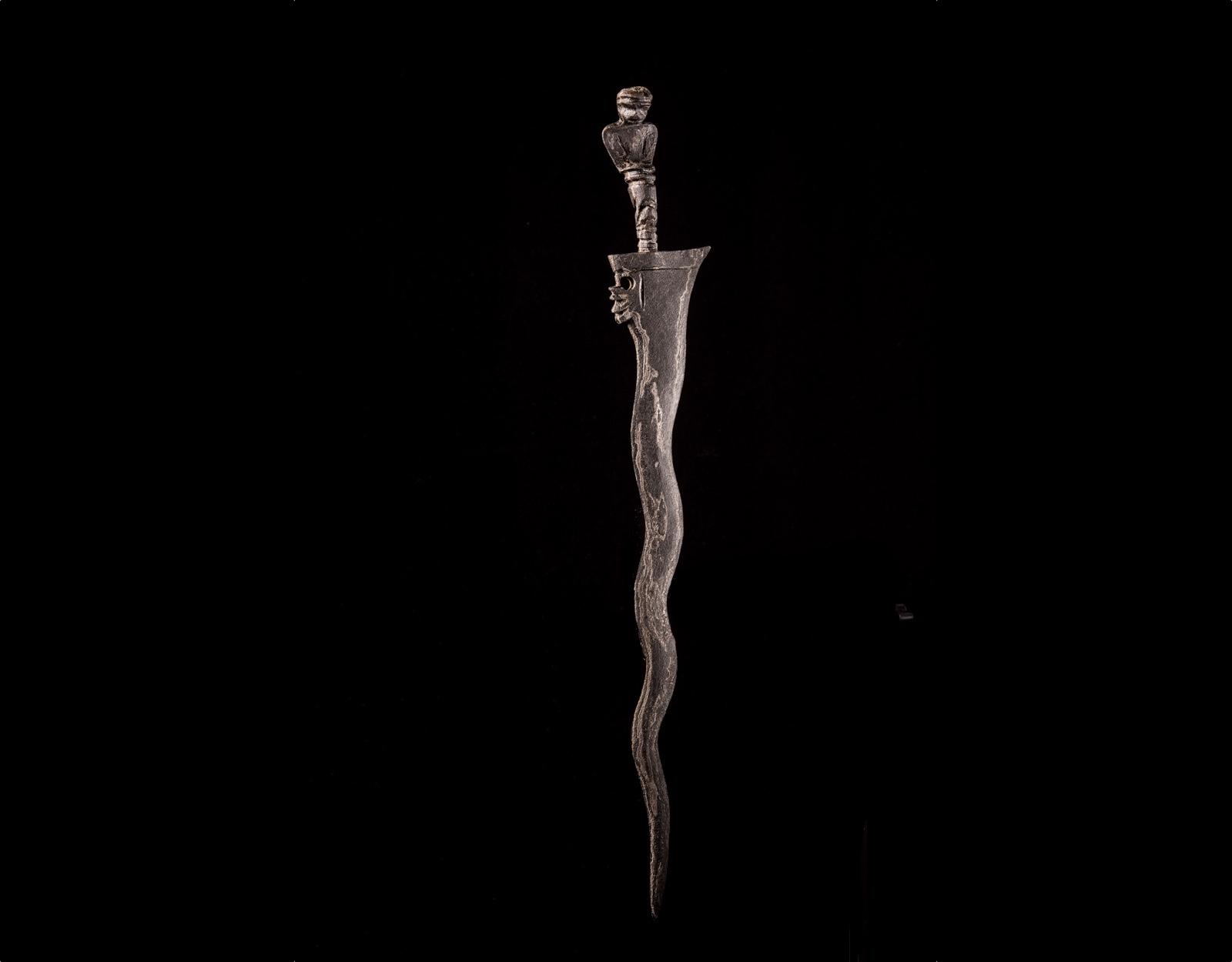 Ритуальный нож Крис Sajen Semar Luk 7 фото VipKeris