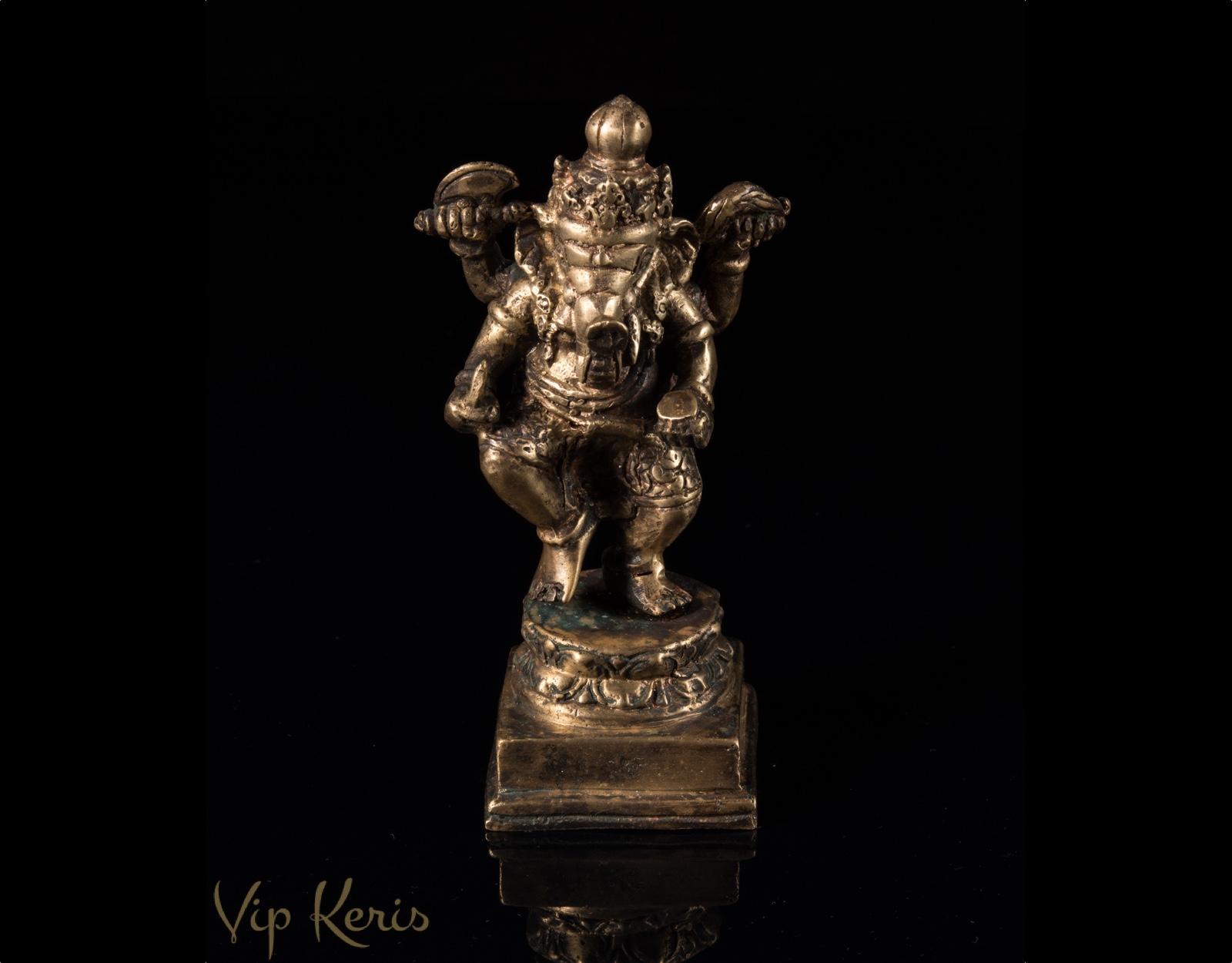 Бронзовая статуя Ганеша, 16см фото VipKeris
