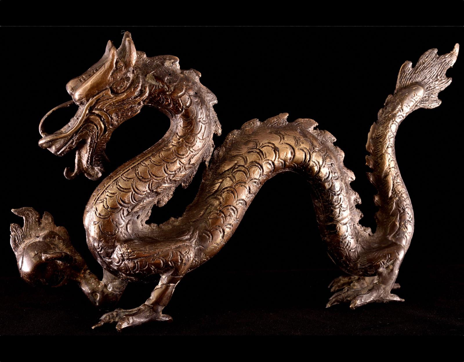 NOGO Дракон с огненным шаром фото VipKeris