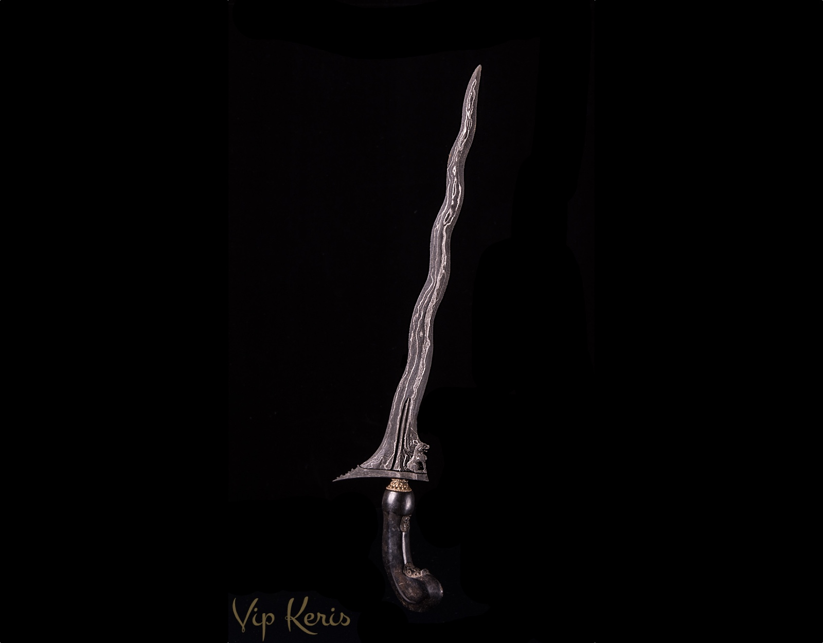 Кинжал Крис Singo barong (luk 9) фото VipKeris