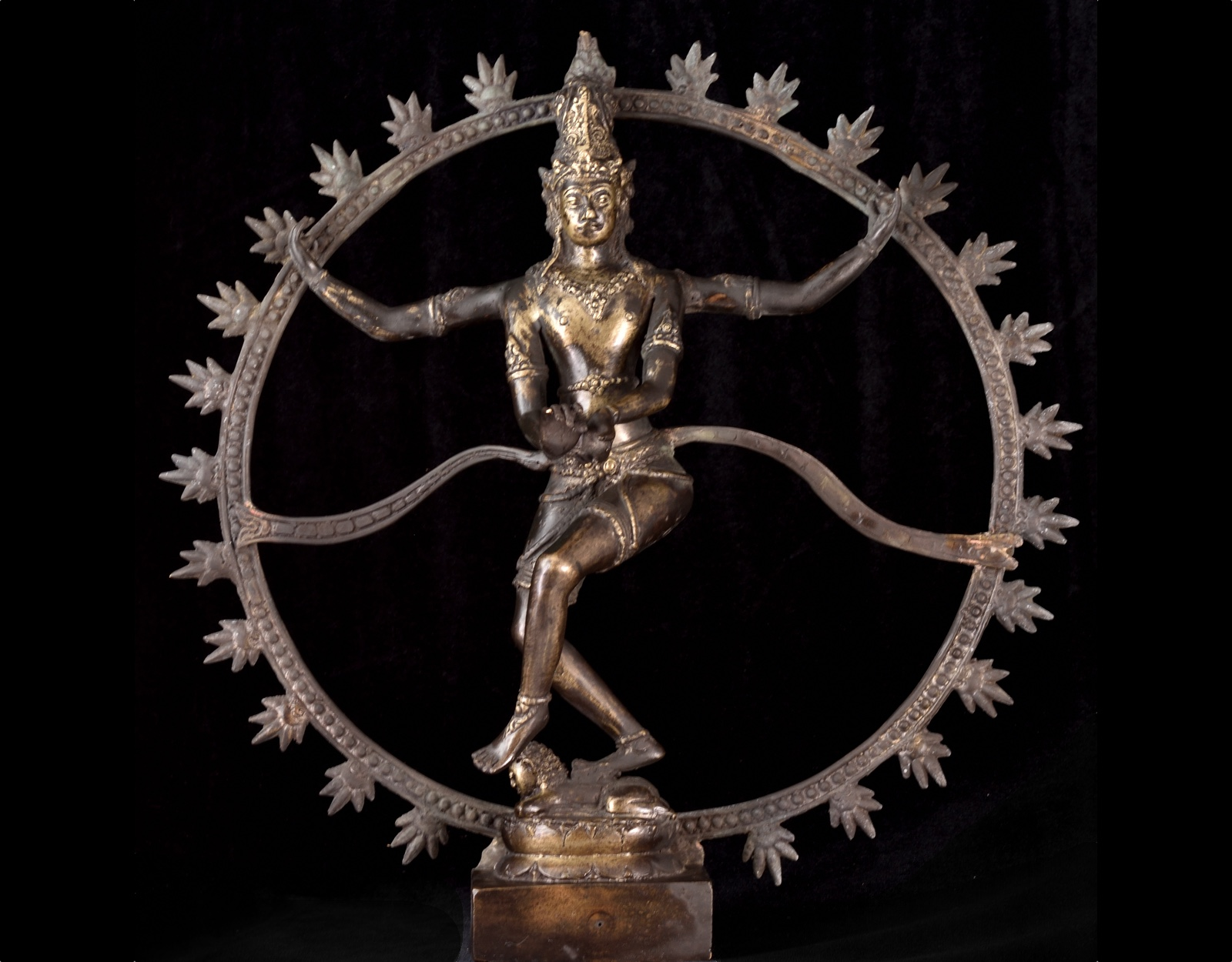 Статуэтка Танцующий Шива. 38см. фото VipKeris