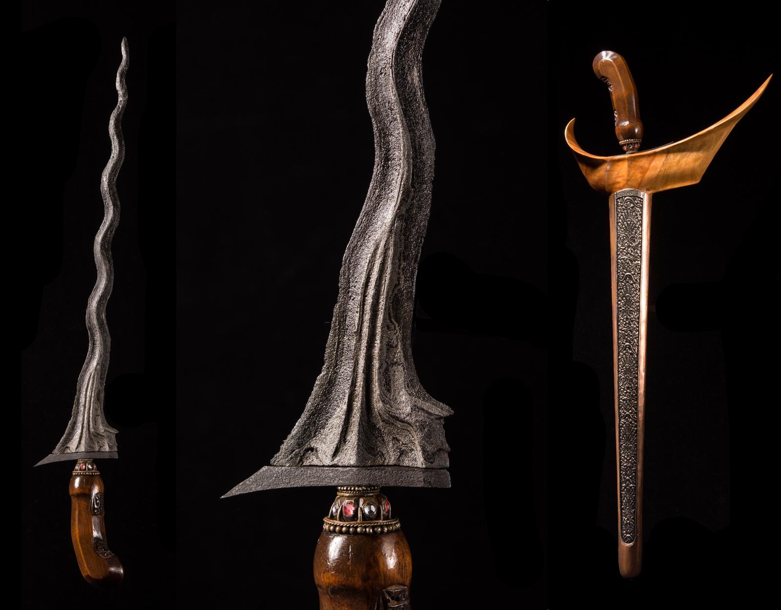 Нож Крис Sengkelat Luk 13, Majapahit фото VipKeris
