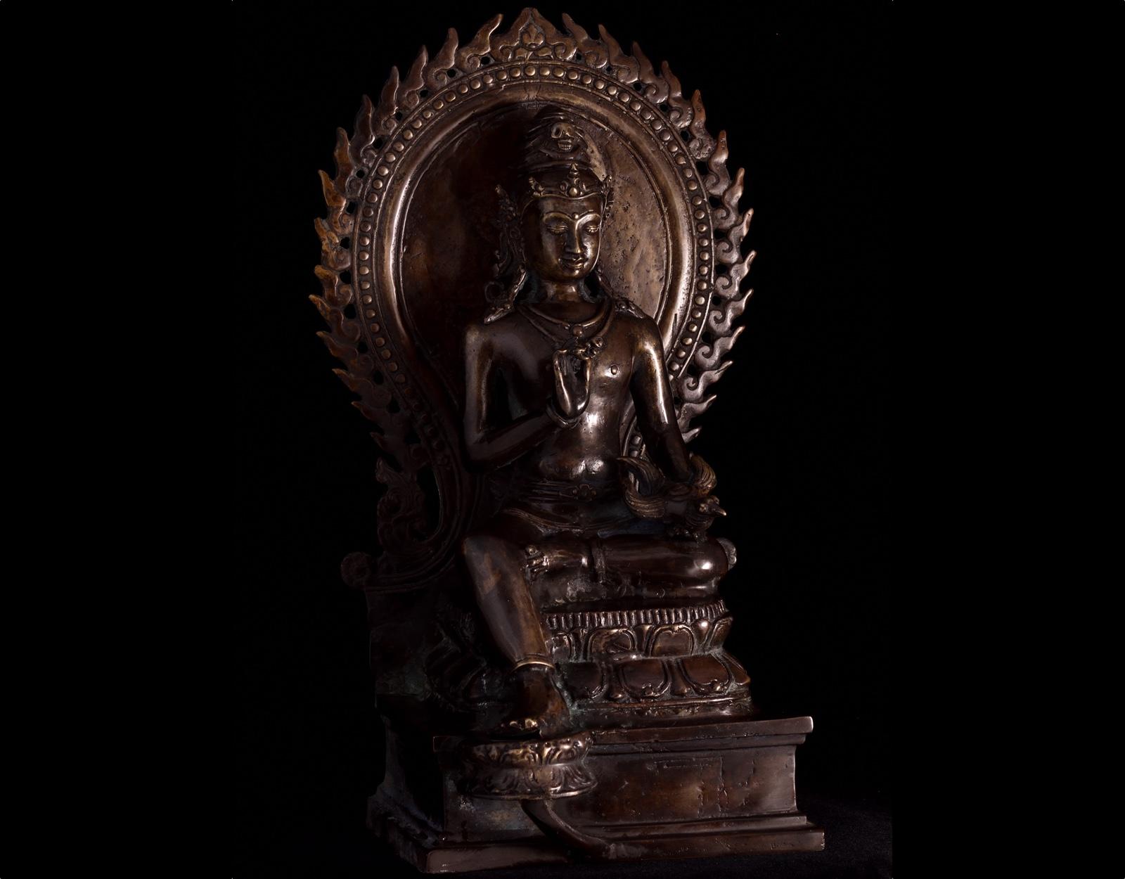 Статуя Airlangga. 42см.  фото VipKeris