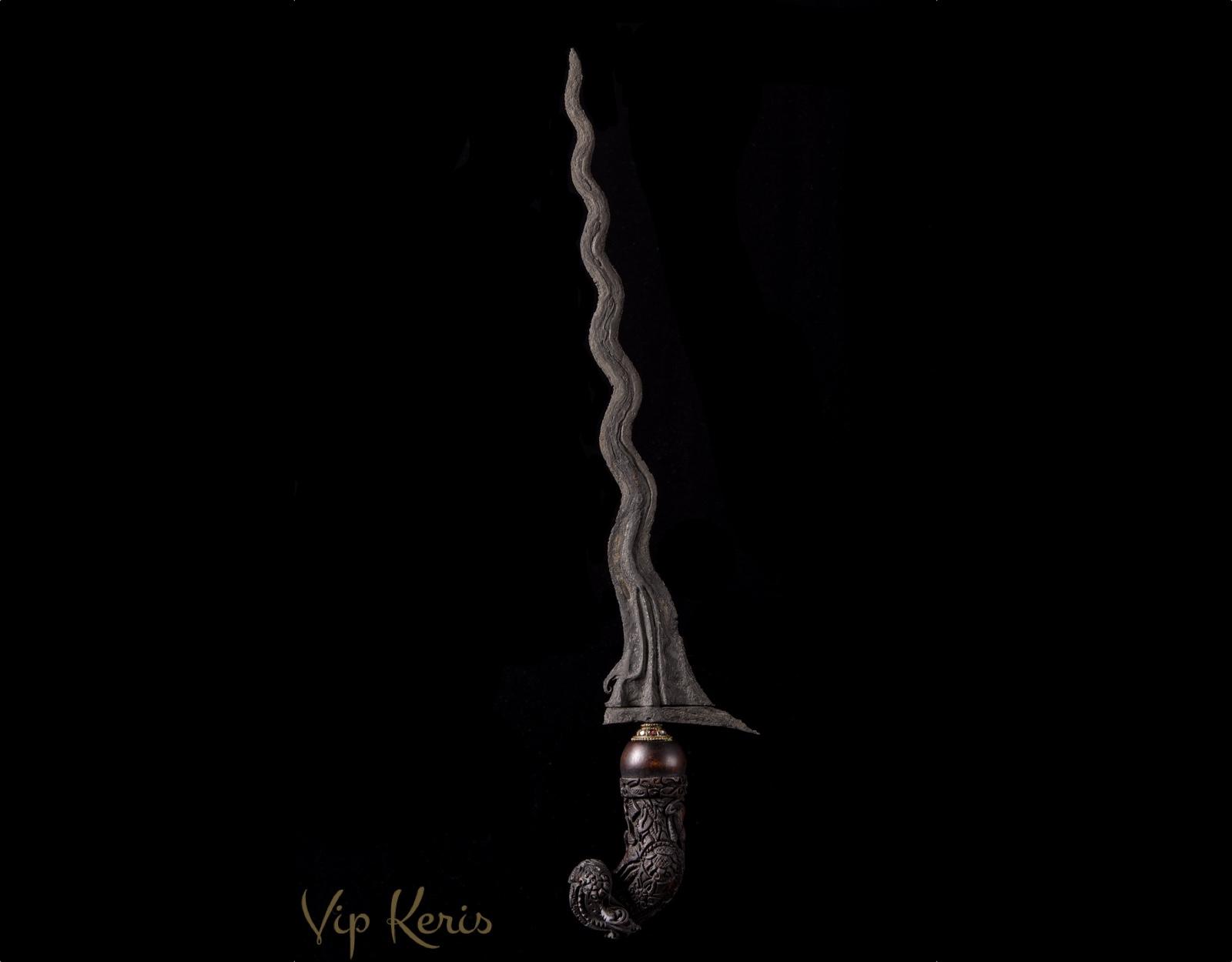 Кинжал Крис с 13 изгибами - Sengkelat, стихия Смерть!!! фото VipKeris