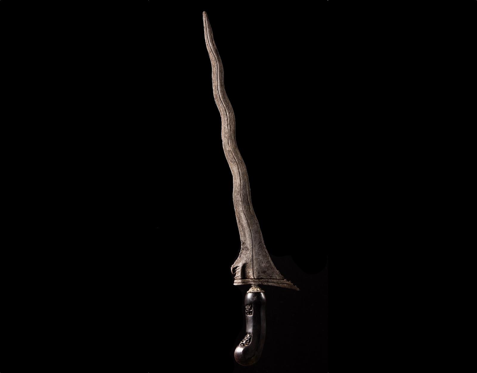 Нож Крис Сarang Soka Luk 9, 10 аркан.  фото VipKeris