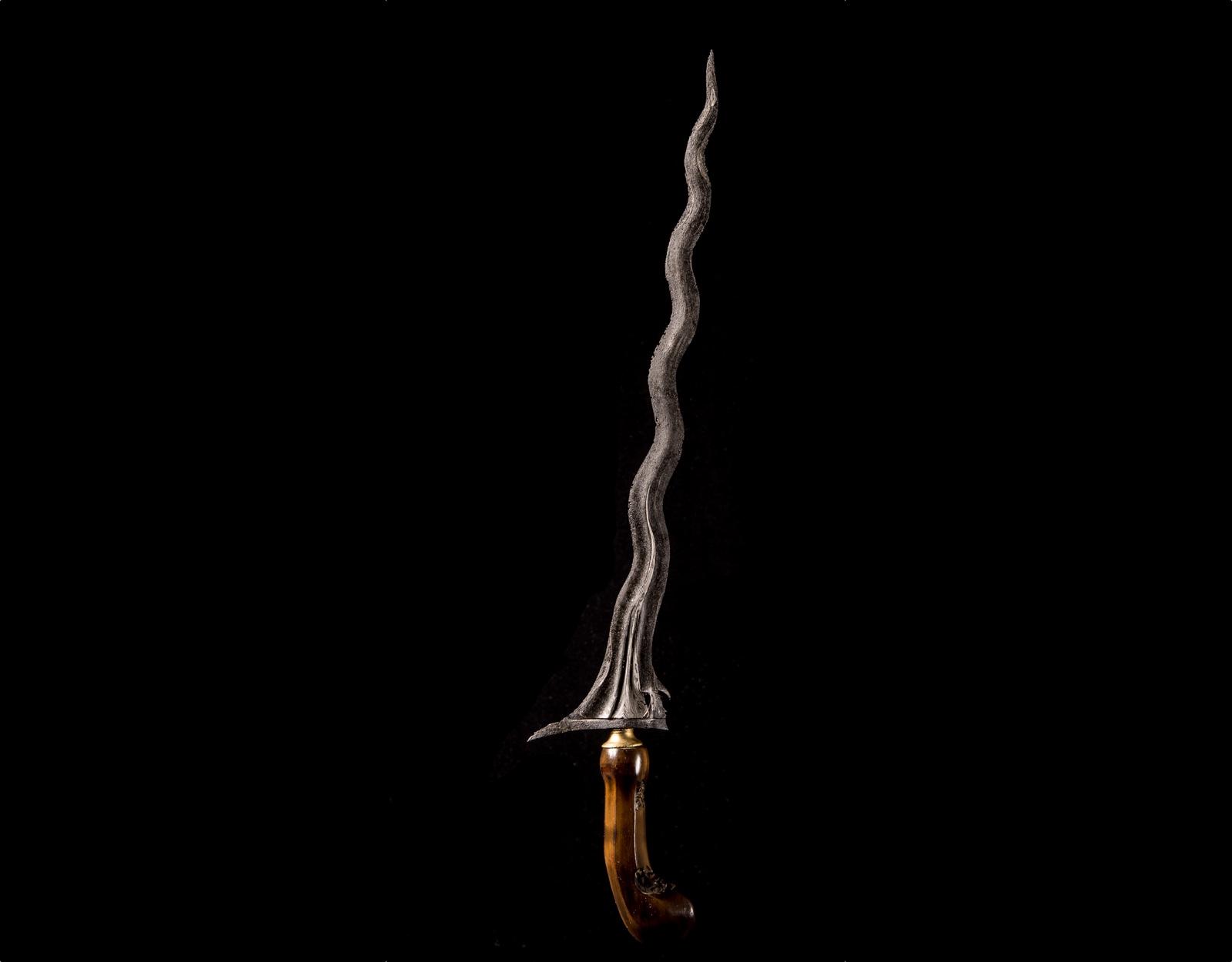 Кинжал Крис Sabuk Inten, магия огня. фото VipKeris