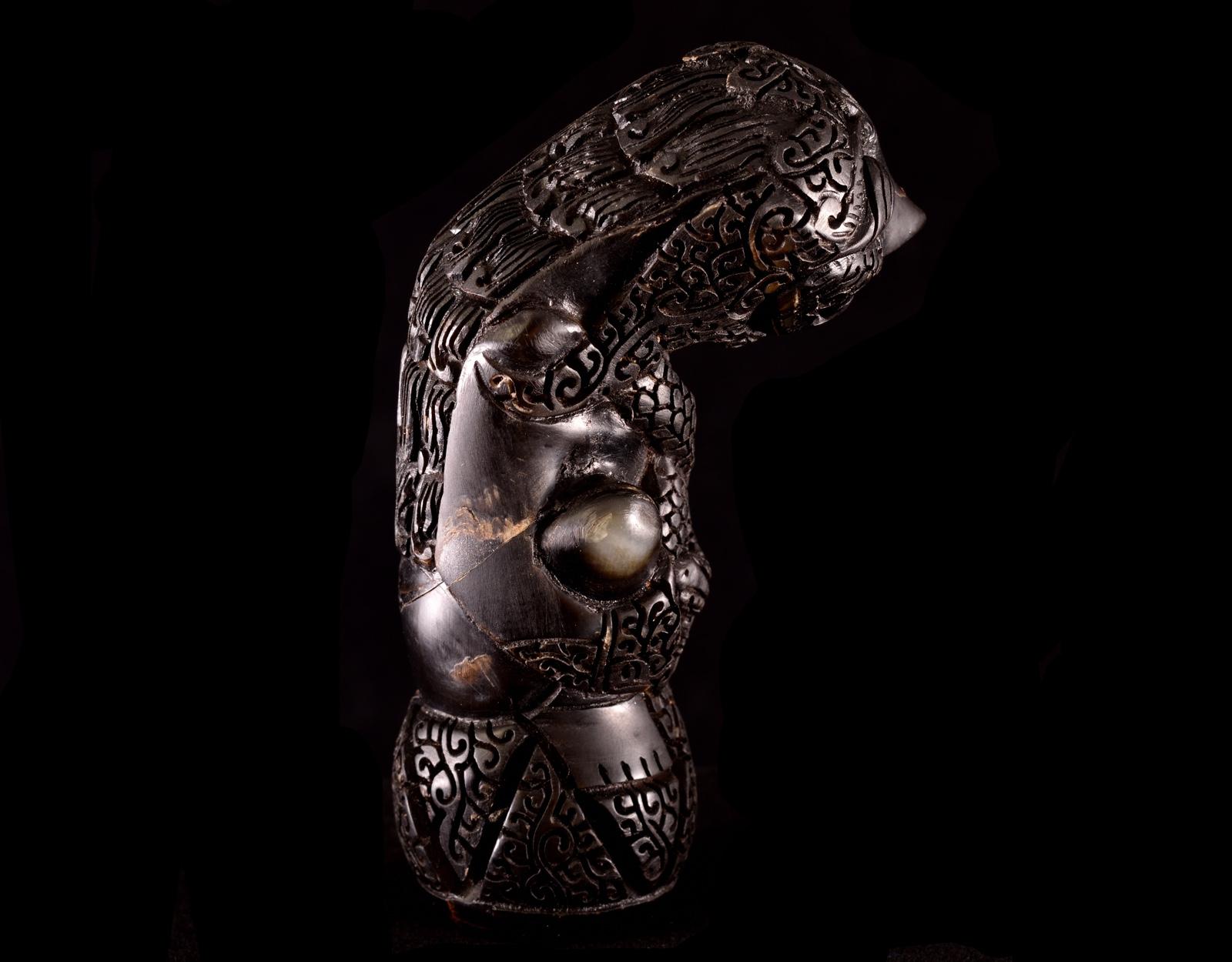 Рукоять для Криса - демон, кость. 1. фото VipKeris