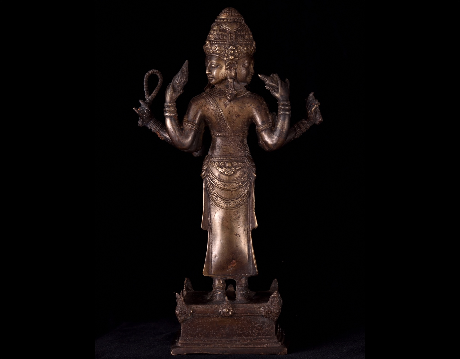 Статуя Тримурти. 30см фото VipKeris