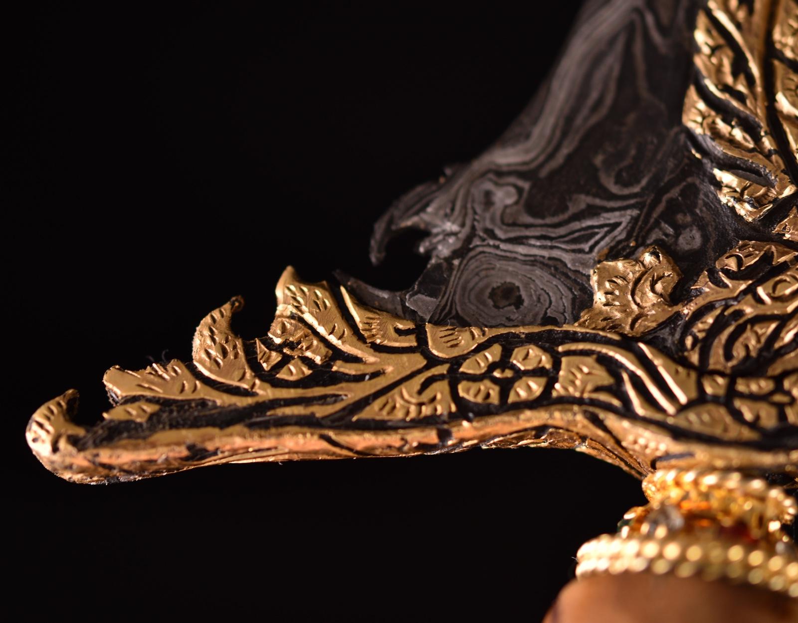 Кинжал Крис Luk 13, Singa Lar фото VipKeris