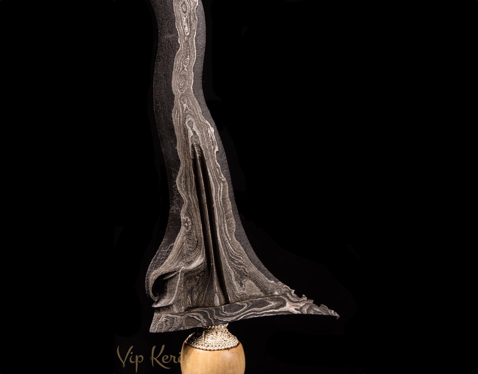 Крис Sabuk Intan Luk11, огонь воздух. фото VipKeris
