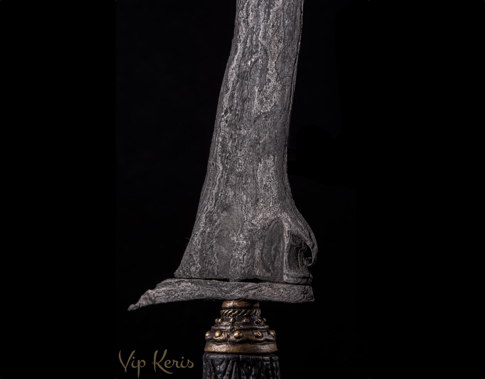 Индонезийский кинжал Крис Sempana luk-9 фото VipKeris
