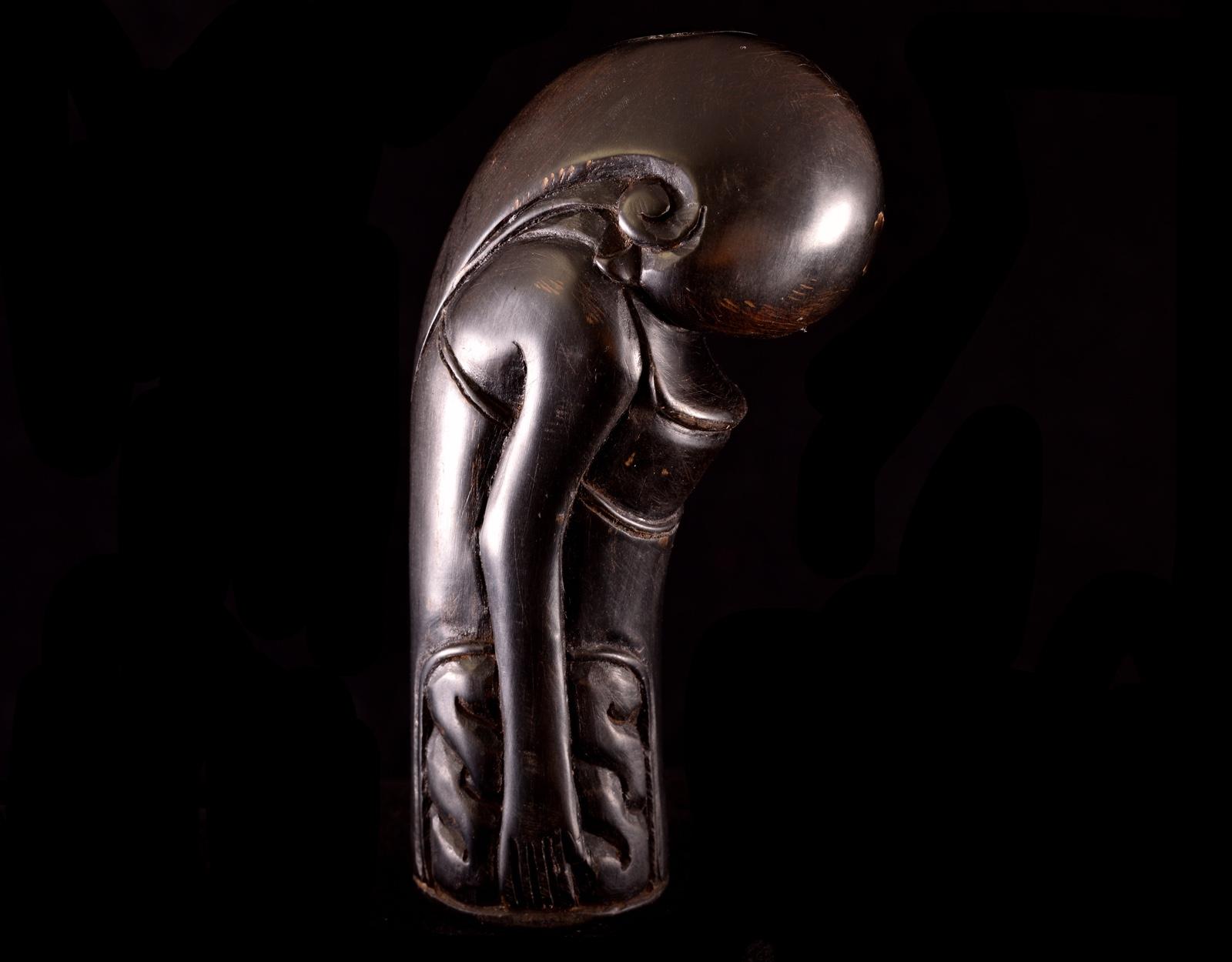 Рукоять для криса - демон, кость. 2. фото VipKeris