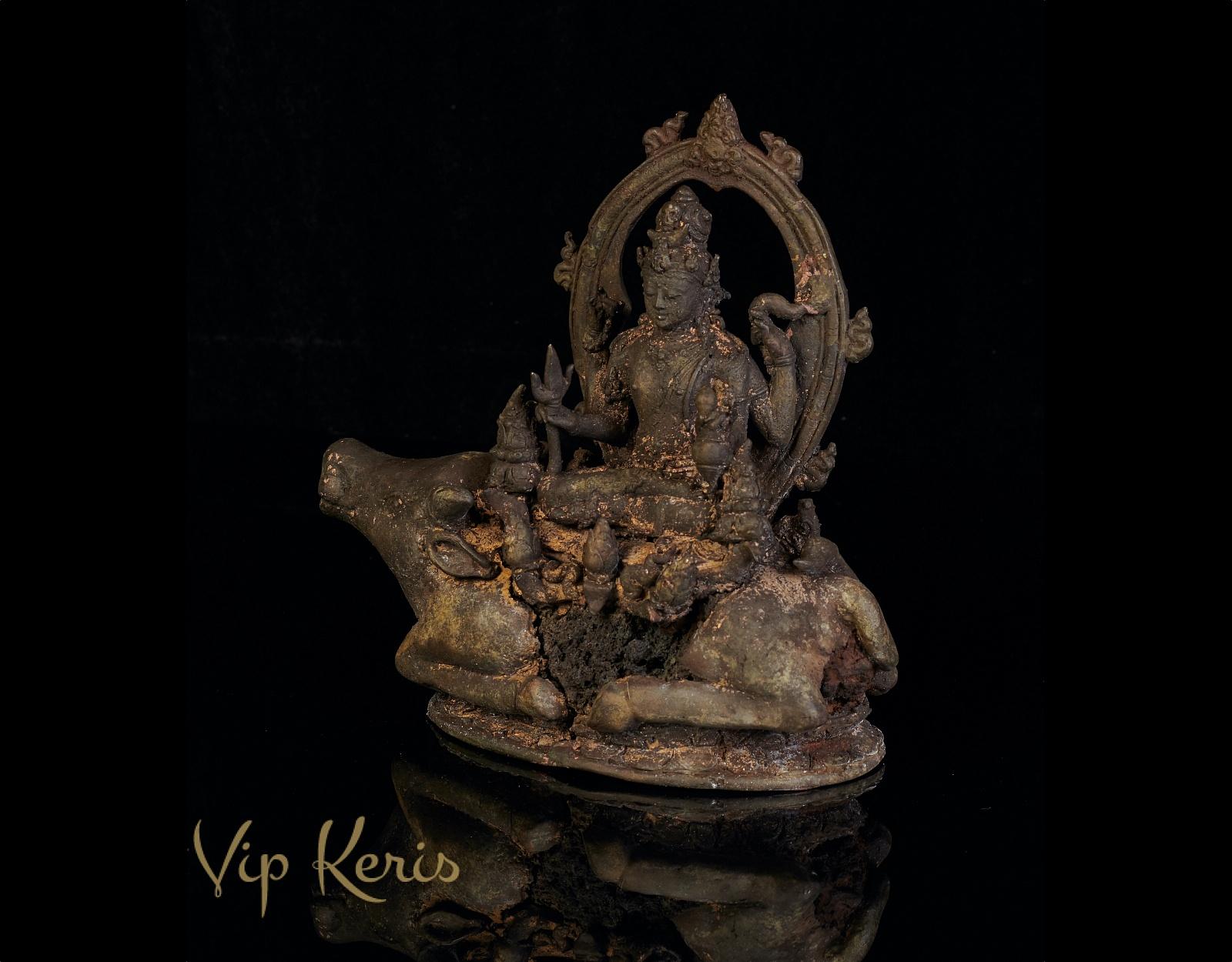 Старинная статуя божества Ямы, 20см фото VipKeris
