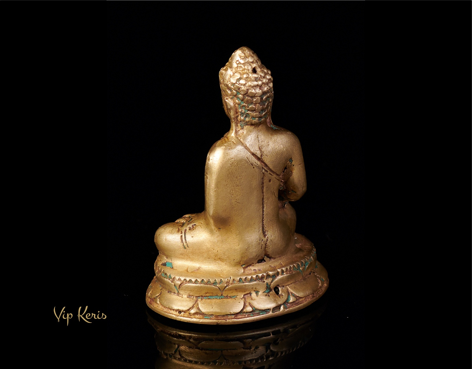 Миниатюрная старинная статуя Будды, 7см фото VipKeris