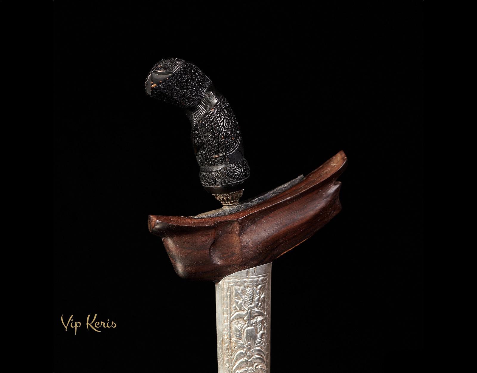 Пламевидный кинжал Крис Sempono Luk9, стихия Смерть фото VipKeris