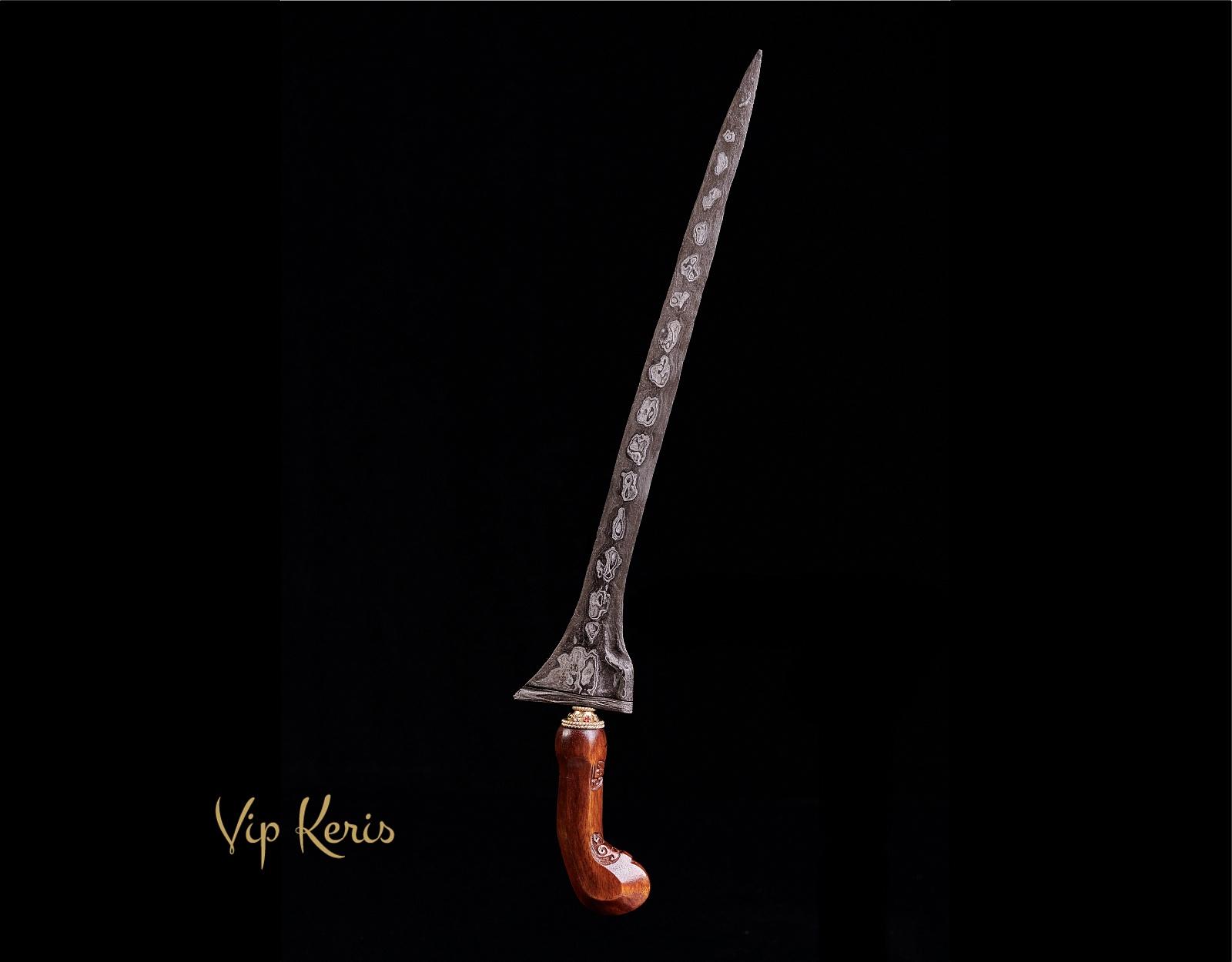 Прямой кинжал Крис Tilam Upih, 15 аркан  фото VipKeris