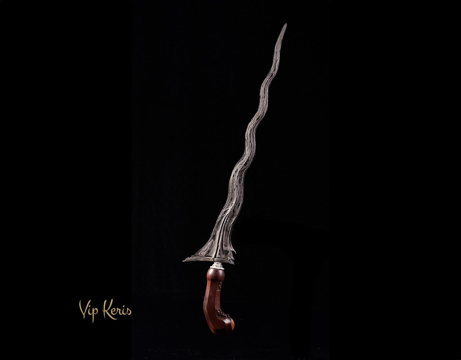 Пламевидный Кинжал Крис Panimbal фото VipKeris