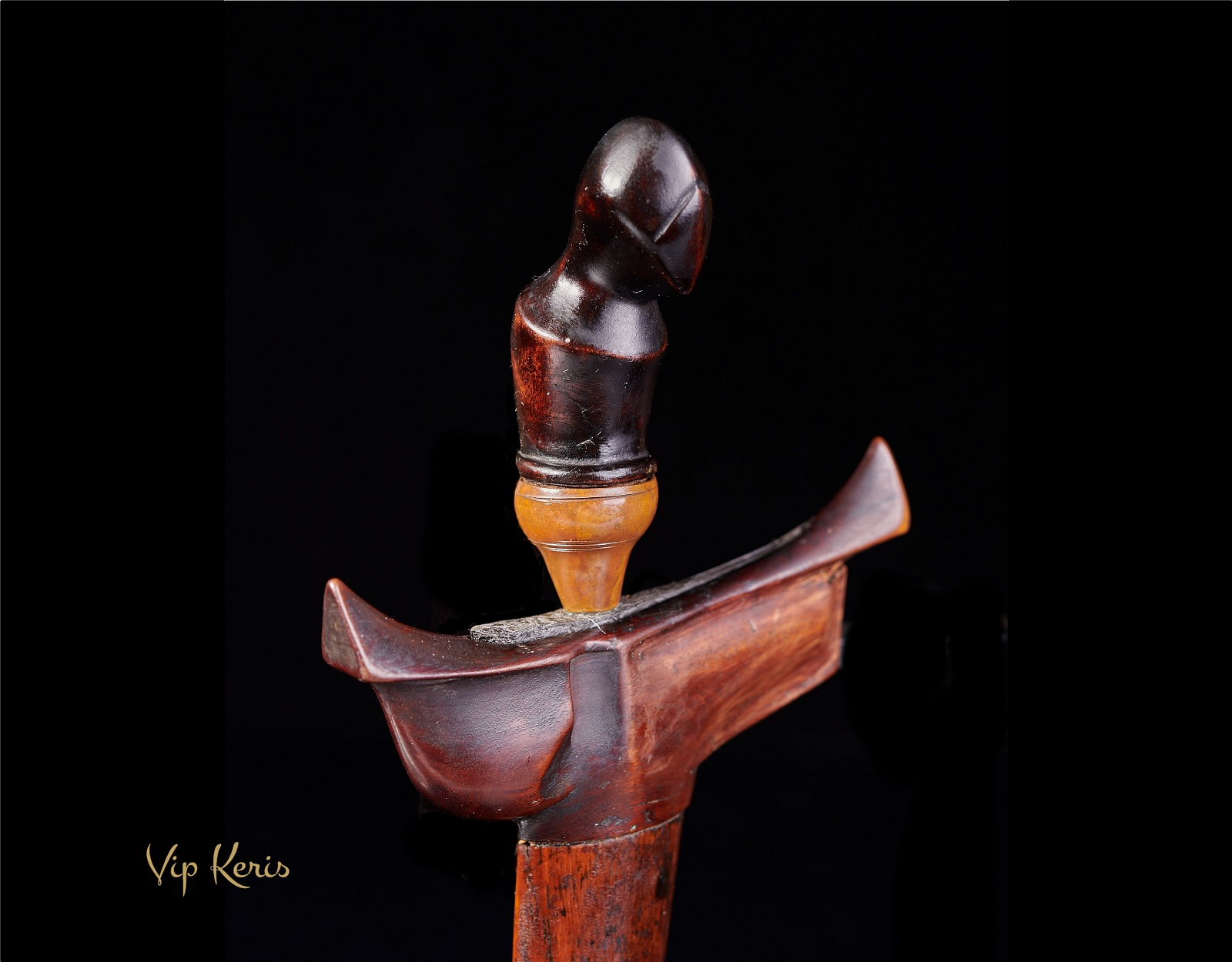 Ритуальный кинжал Крис Lare, стихия Смерть фото VipKeris
