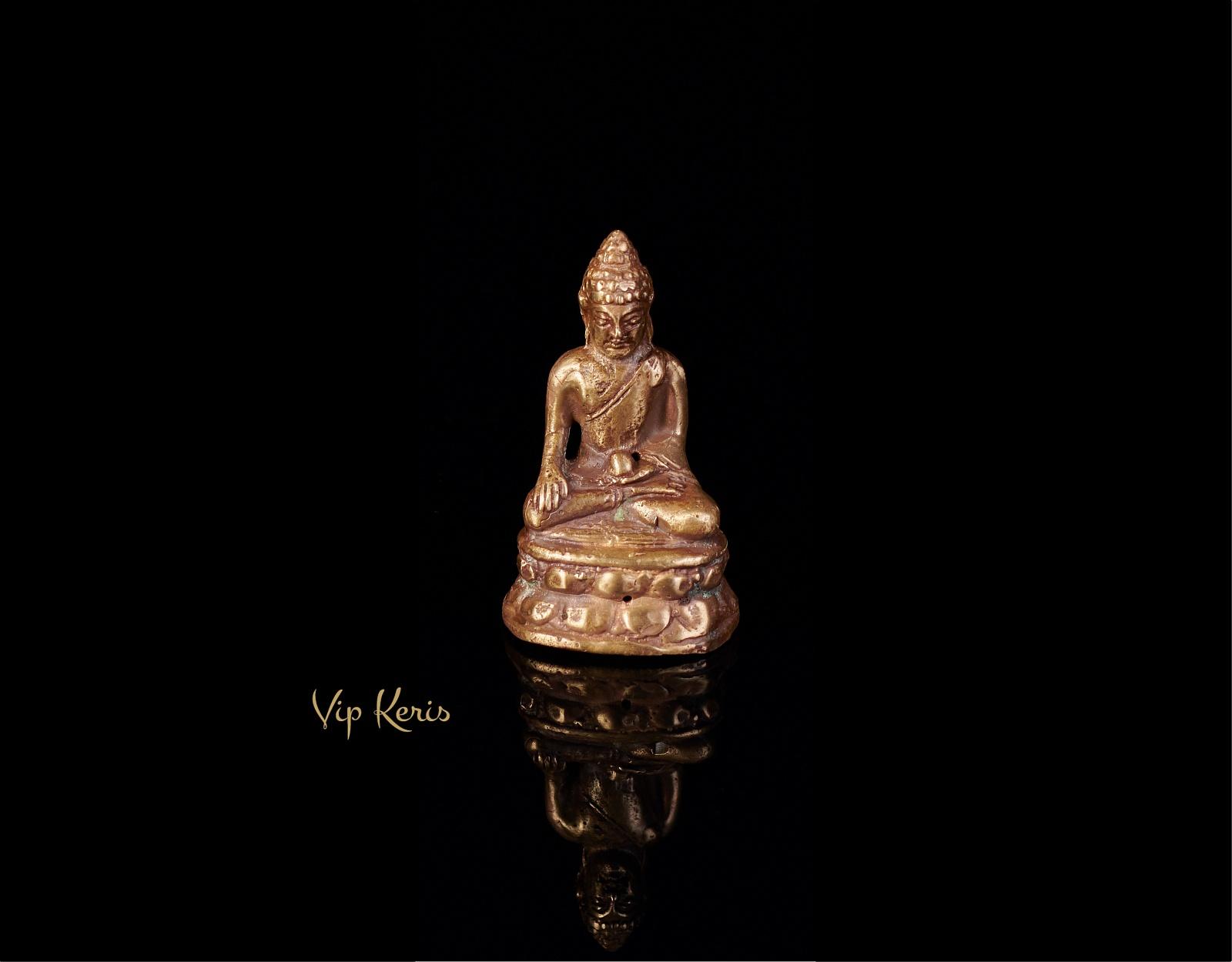 Миниатюрная старинная статуя Будды, 6см фото VipKeris