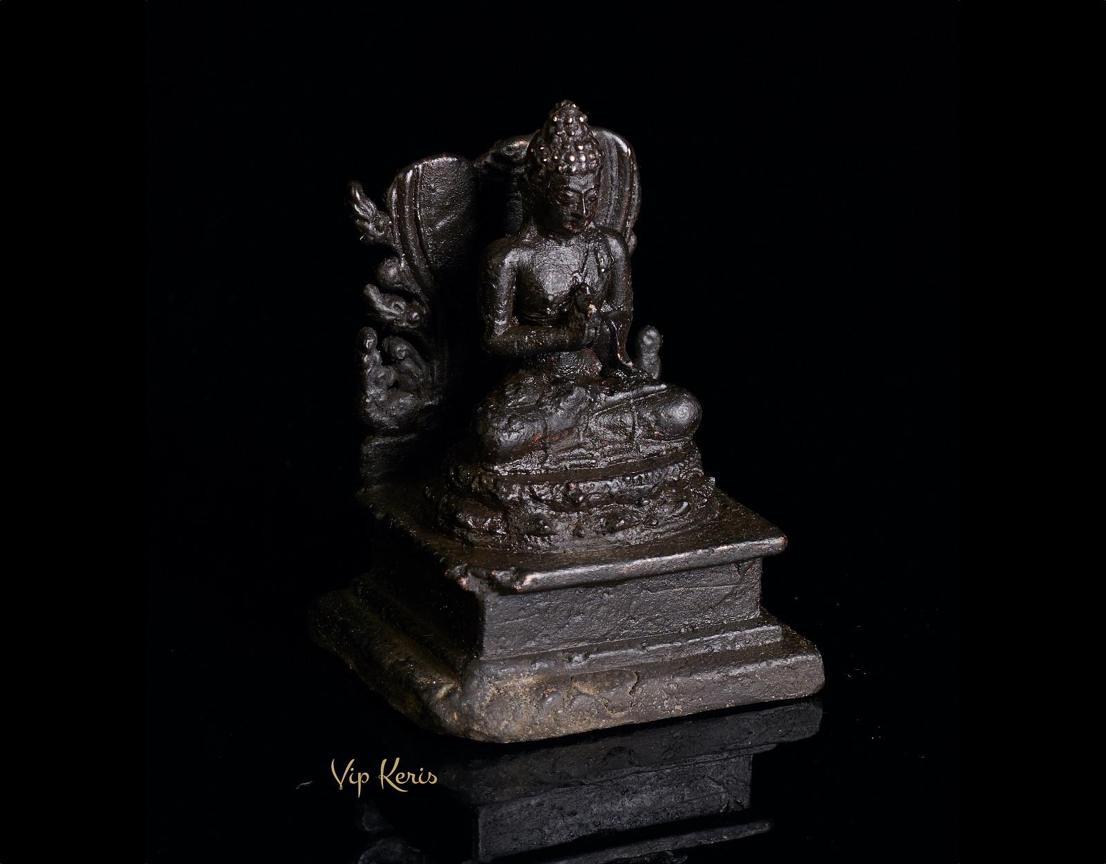 Старинная алтарная статуя Будды, 7см фото VipKeris