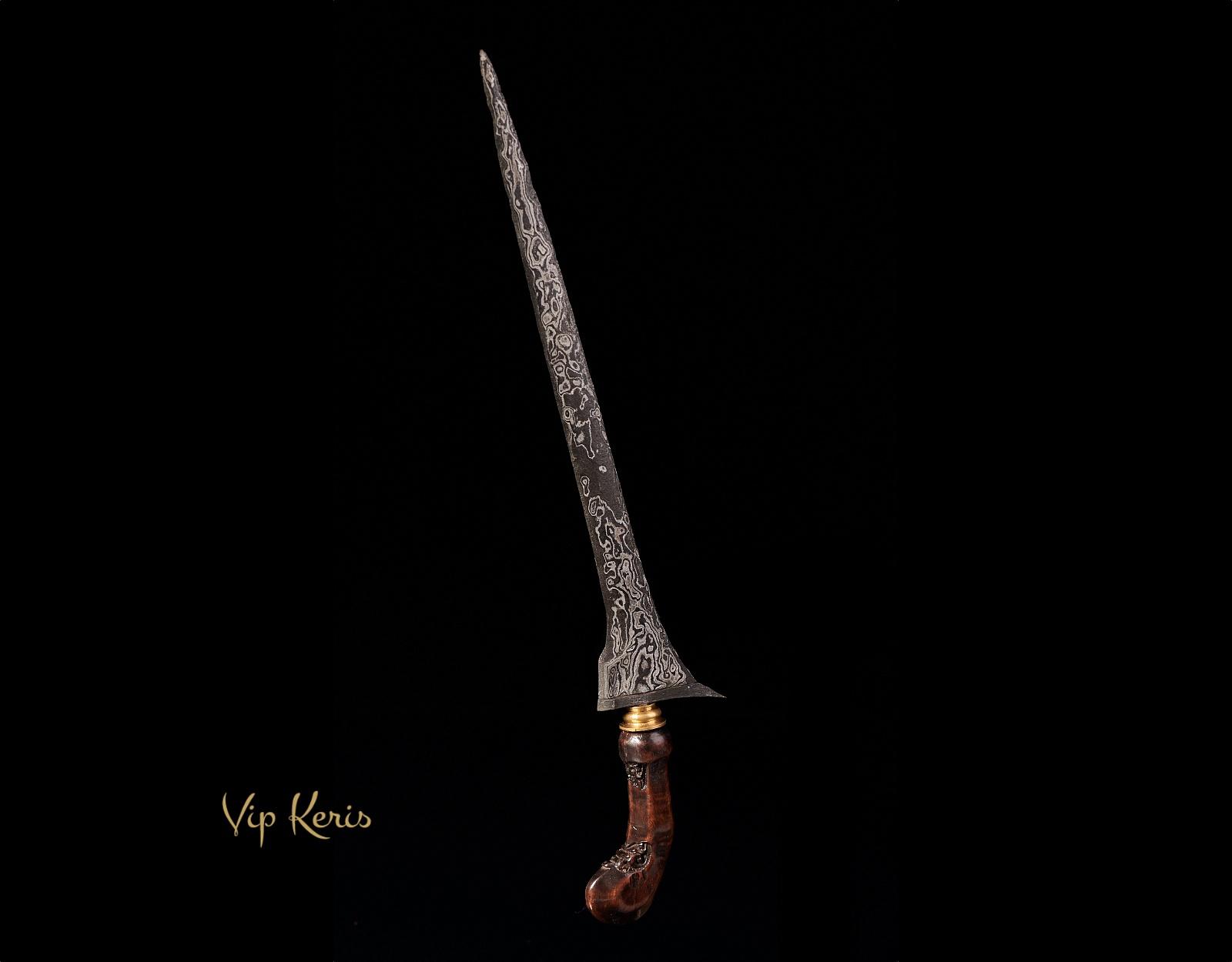 Прямой кинжал Крис Tilam Upih, Инь фото VipKeris
