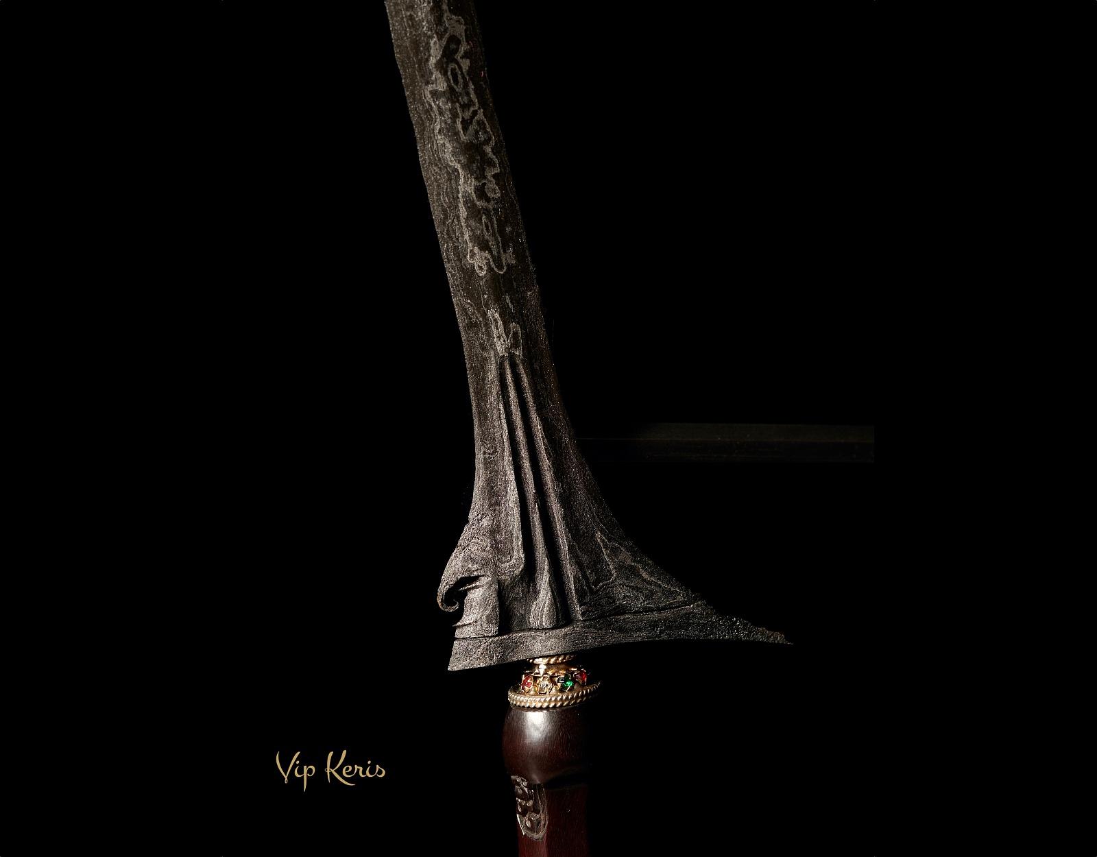 Ритуальный кинжал Крис Jalak Sinom фото VipKeris