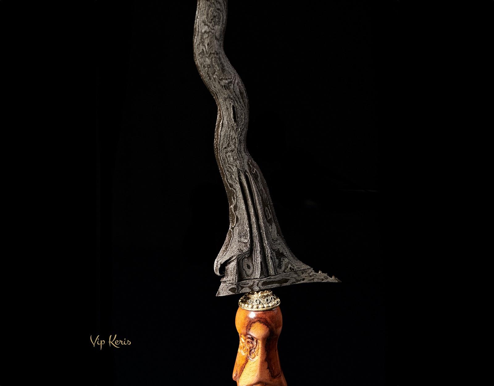 Кинжал Крис Sengkelat 13 Luk, Власть. фото VipKeris
