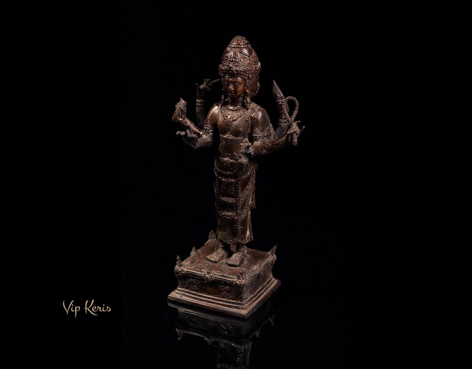 Алтарная статуя Тримурти, 30см фото VipKeris