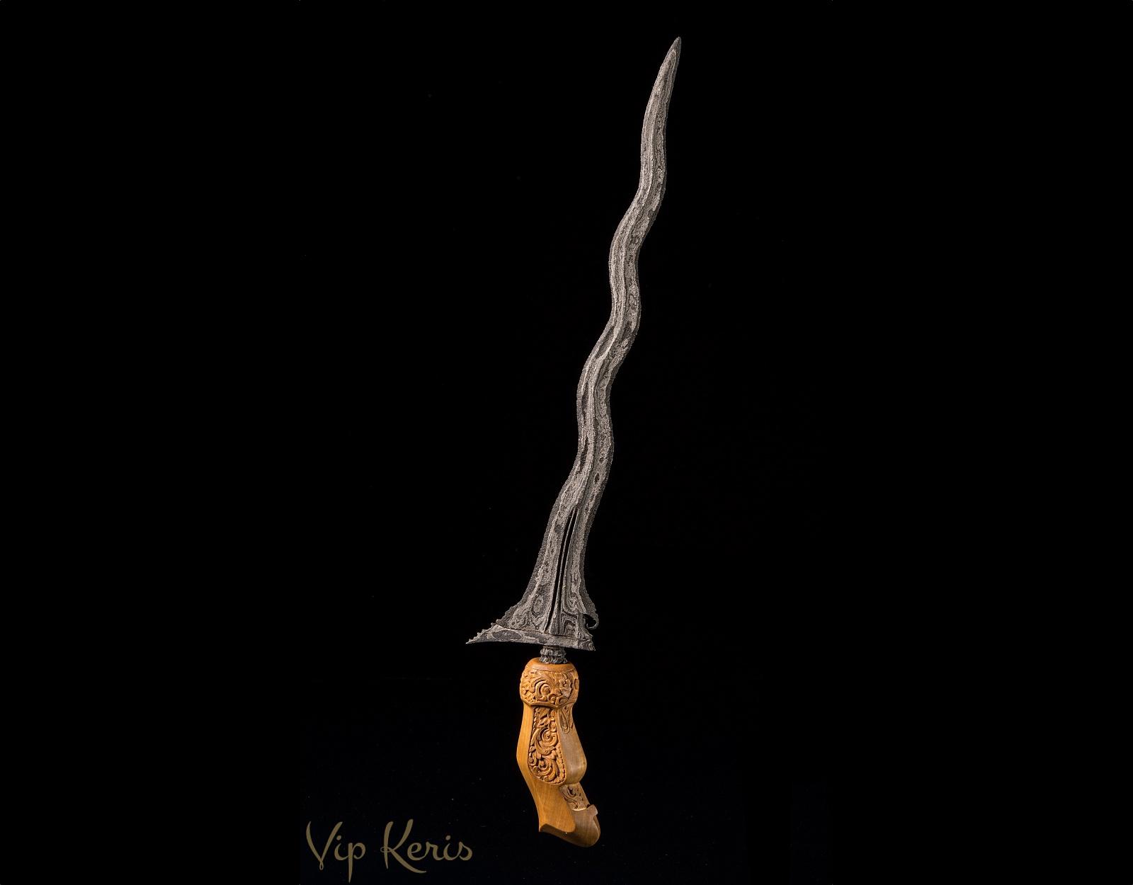 Кинжал Крис Balebang Luk 7 фото VipKeris