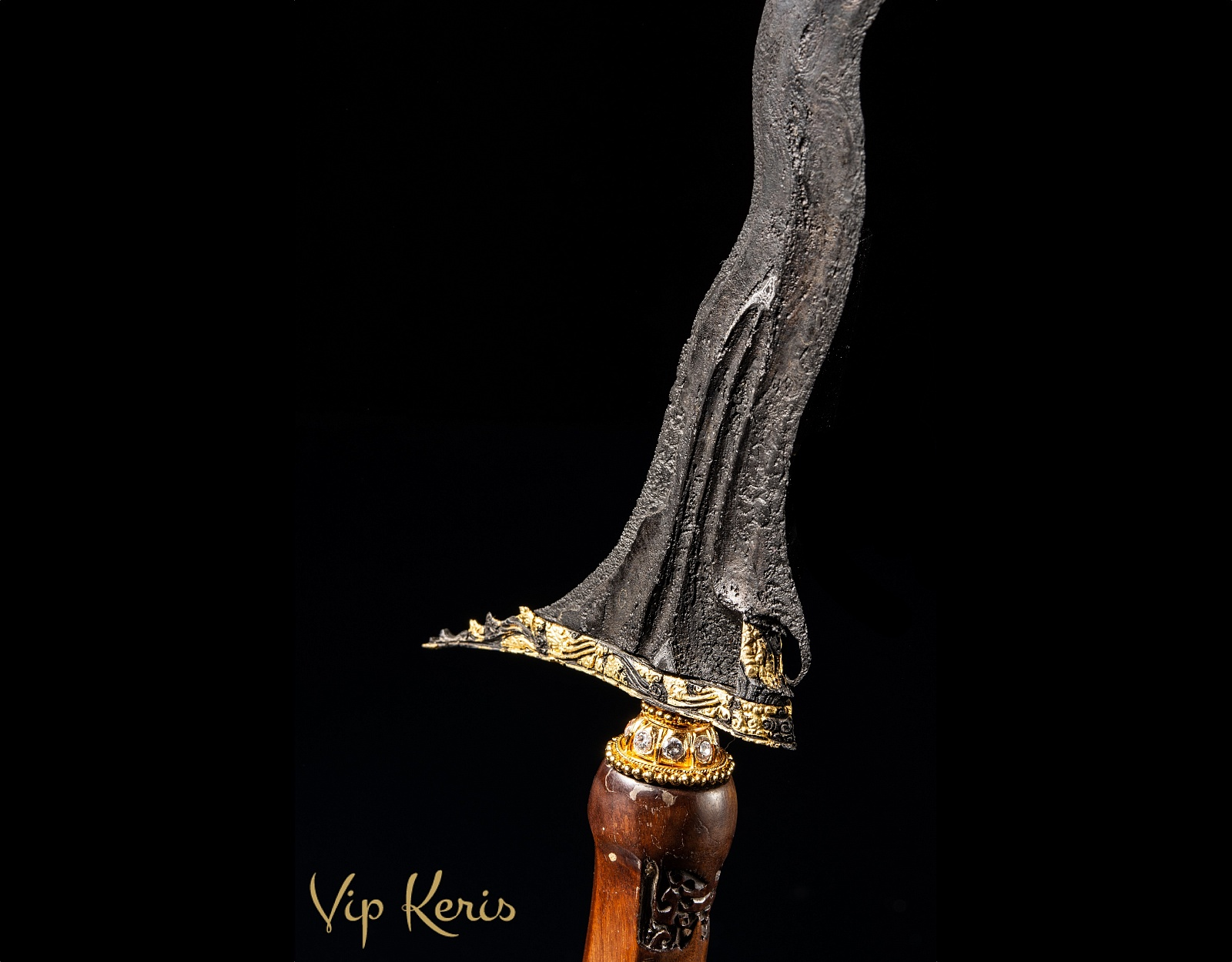 Крис Sengkelat Gold Kinatah фото VipKeris
