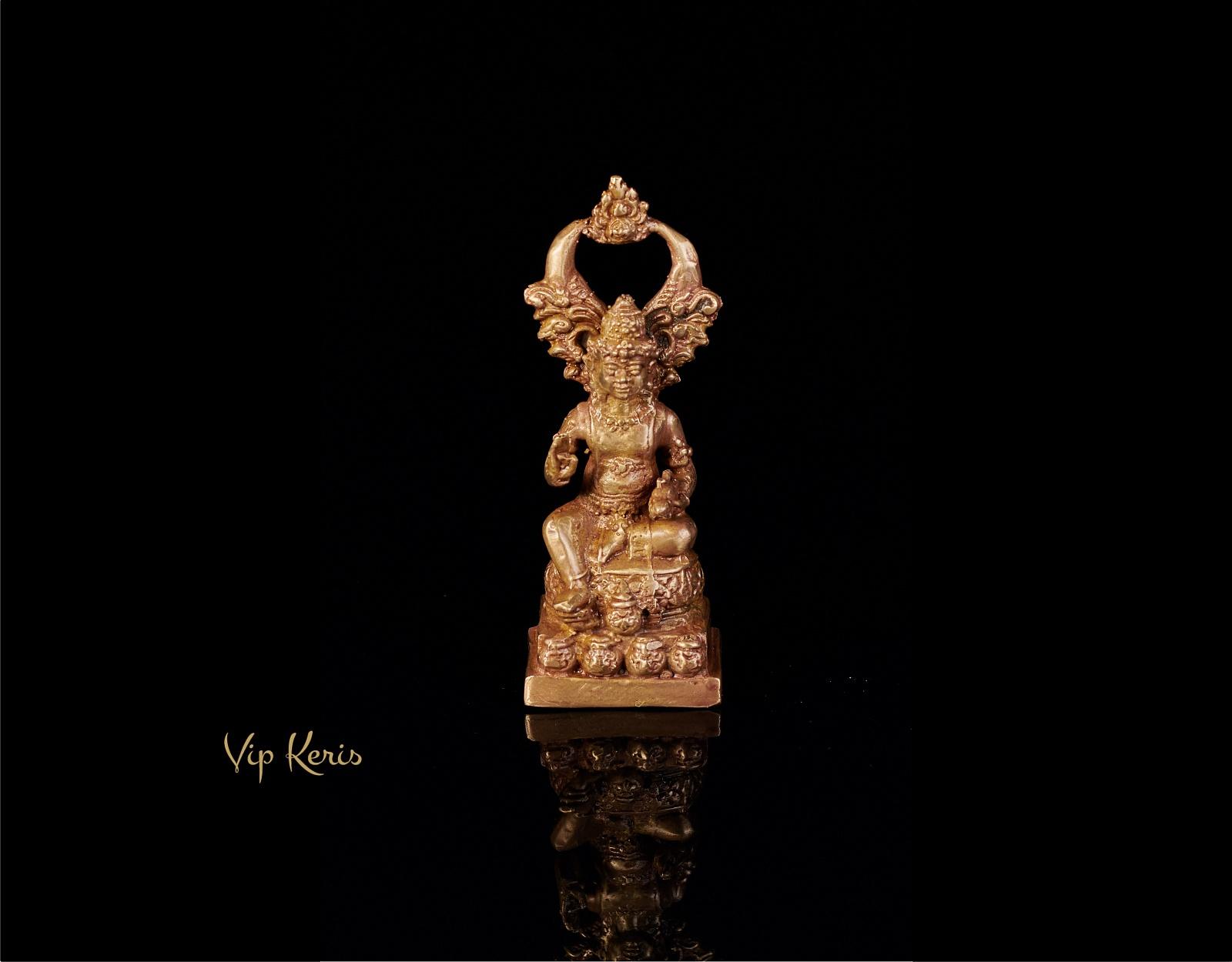 Антикварная статуя Кубера, 14см фото VipKeris