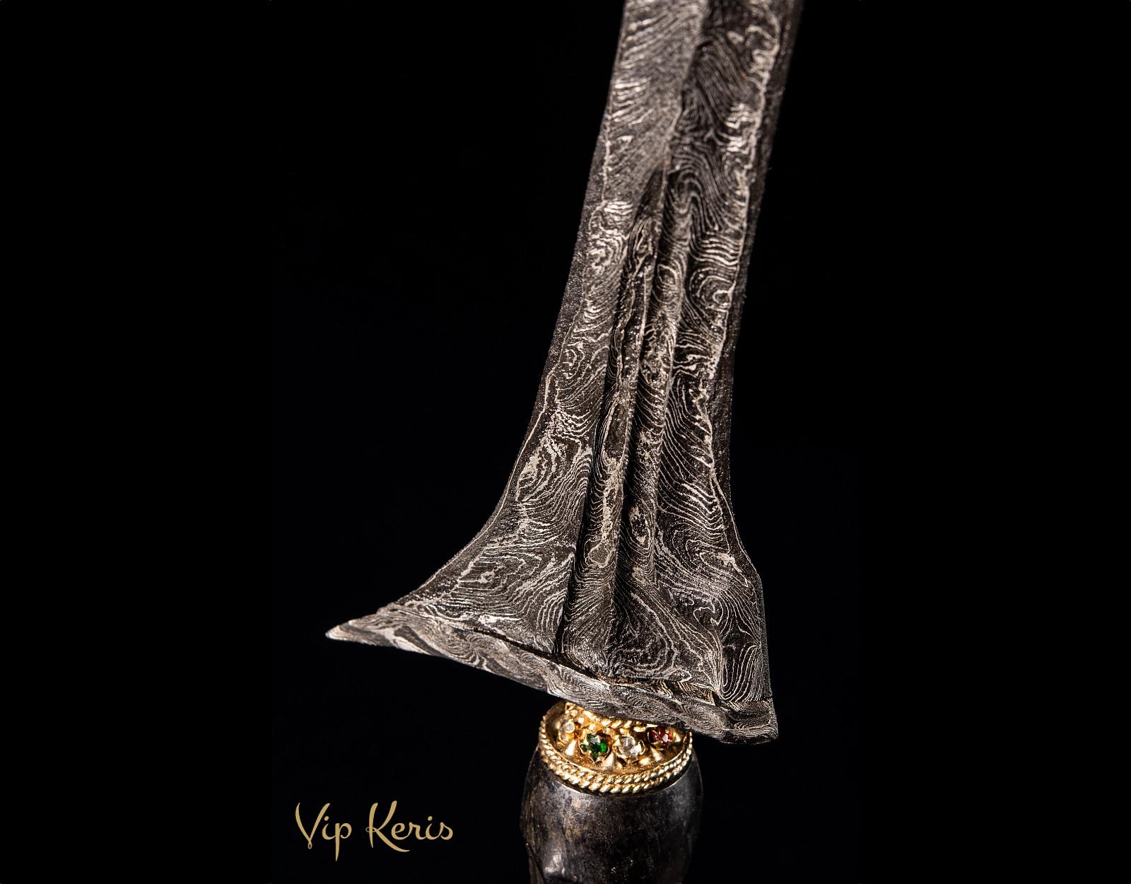 Прямой Крис Jalak Sangu Tumpeng фото VipKeris