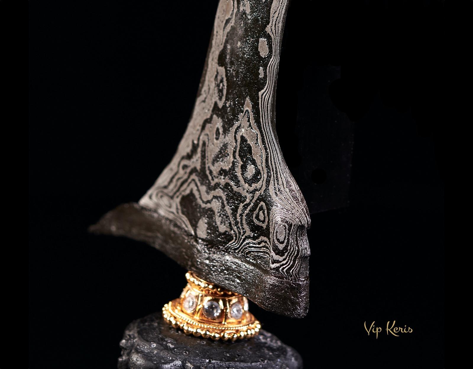Индонезийский кинжал Крис Sempono, Инь фото VipKeris