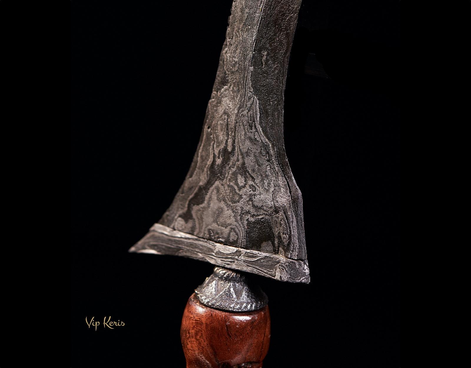 Миниатюрный кинжал Крис Jangkung Patrem luk3, целитель фото VipKeris