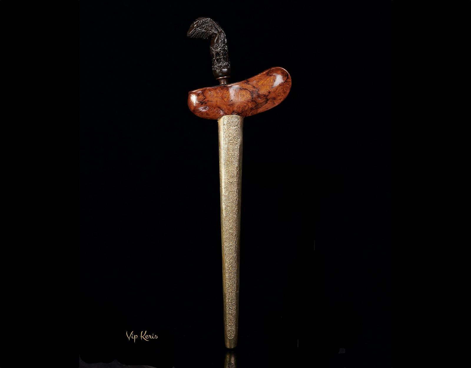 Ритуальный кинжал Крис Jaran goyang фото VipKeris