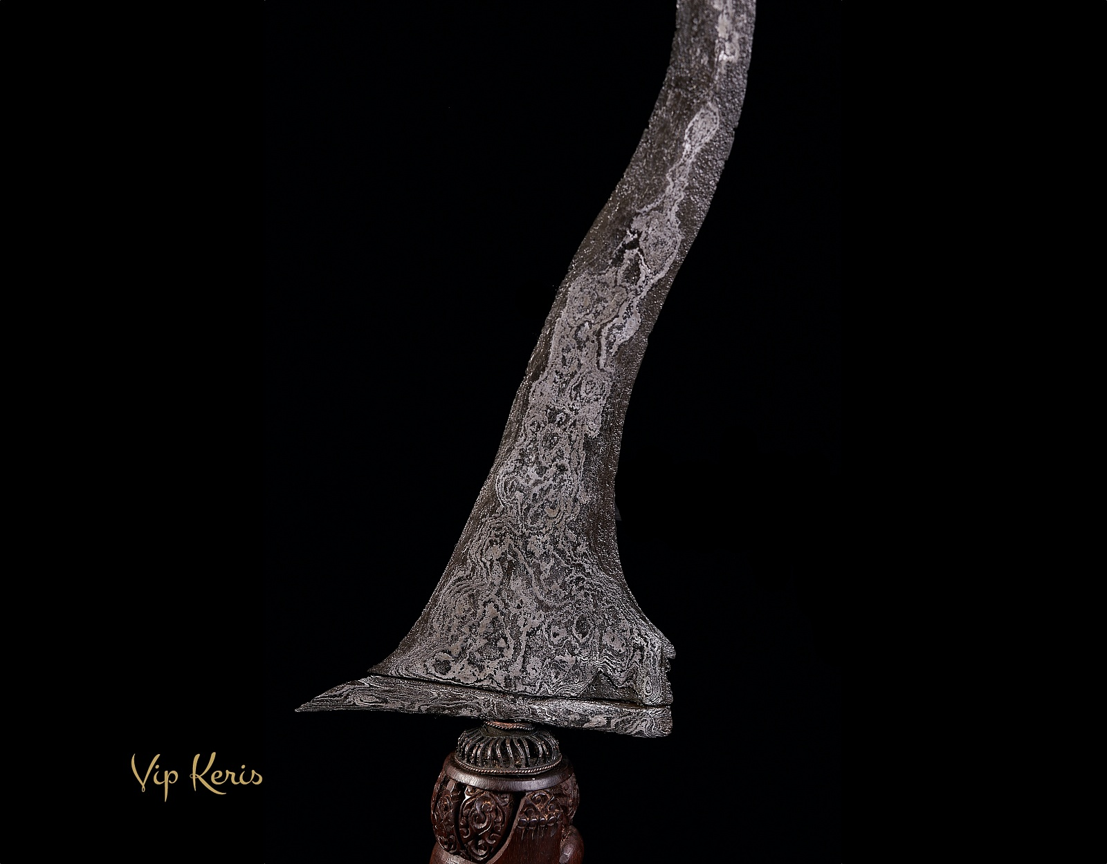 Индонезийский кинжал Крис Sempomo фото VipKeris