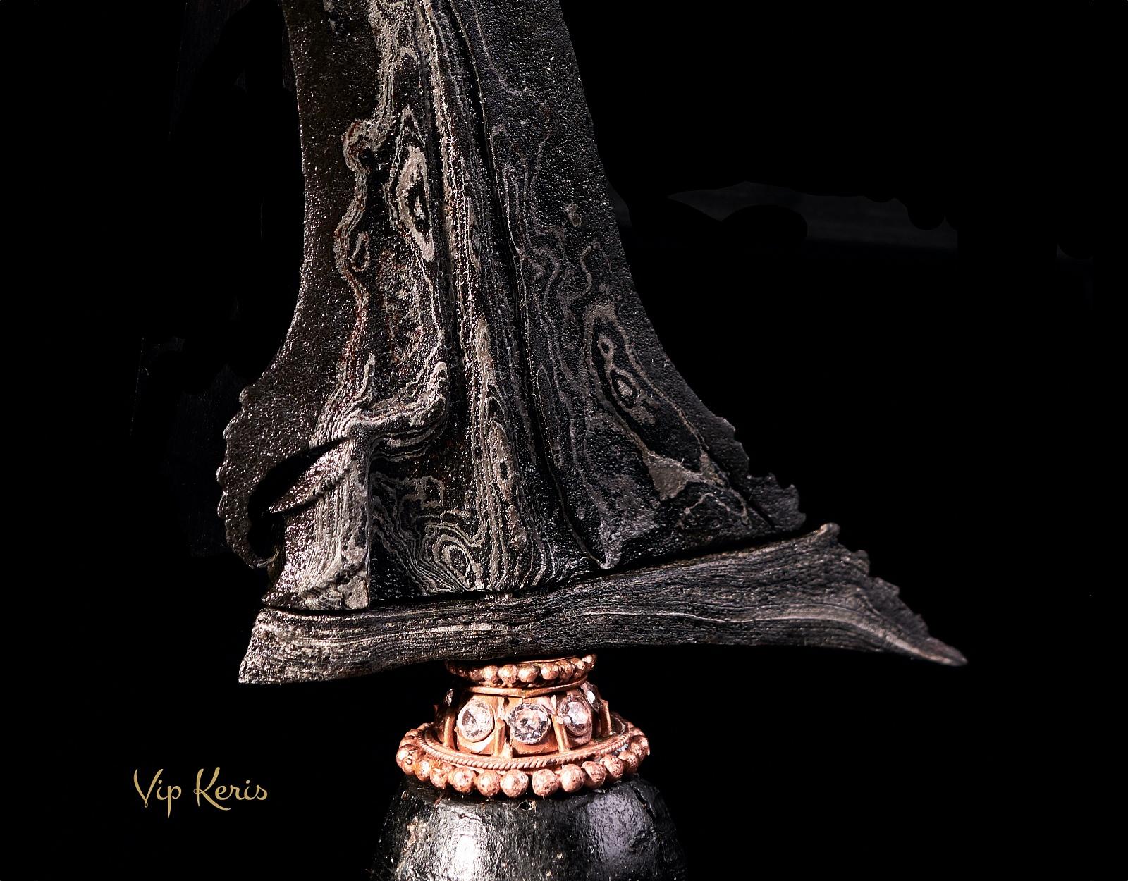 Суматранский кинжал Крис Lamba Sembilan фото VipKeris