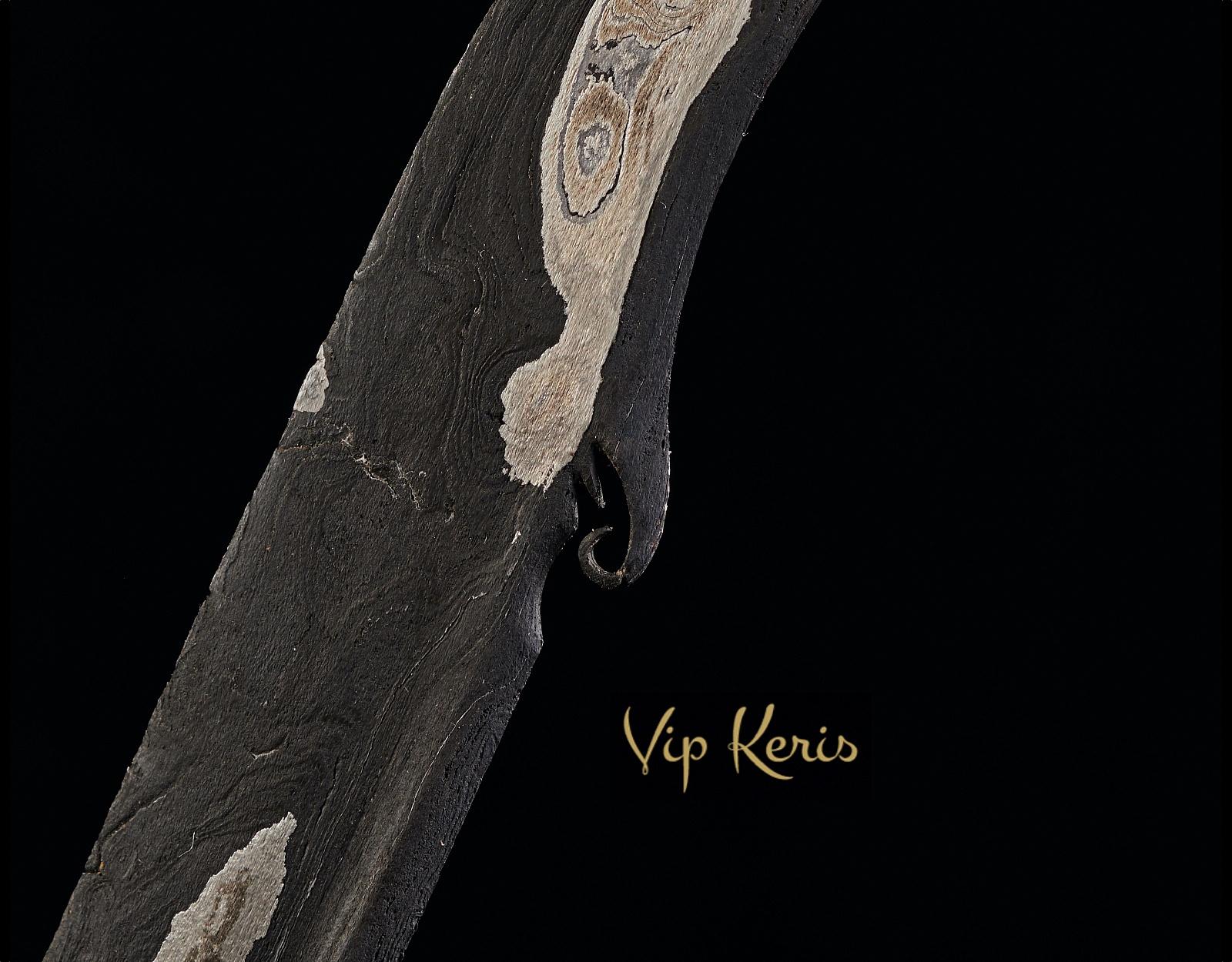 Ритуальный кинжал Крис Kebo Salurung фото VipKeris
