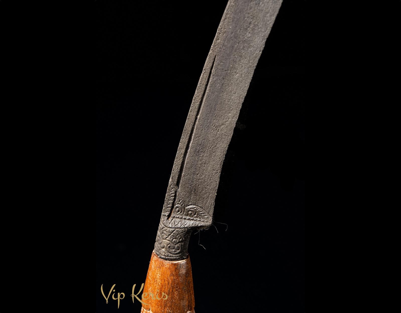 Ритуальный Badik tumbuk ladu фото VipKeris