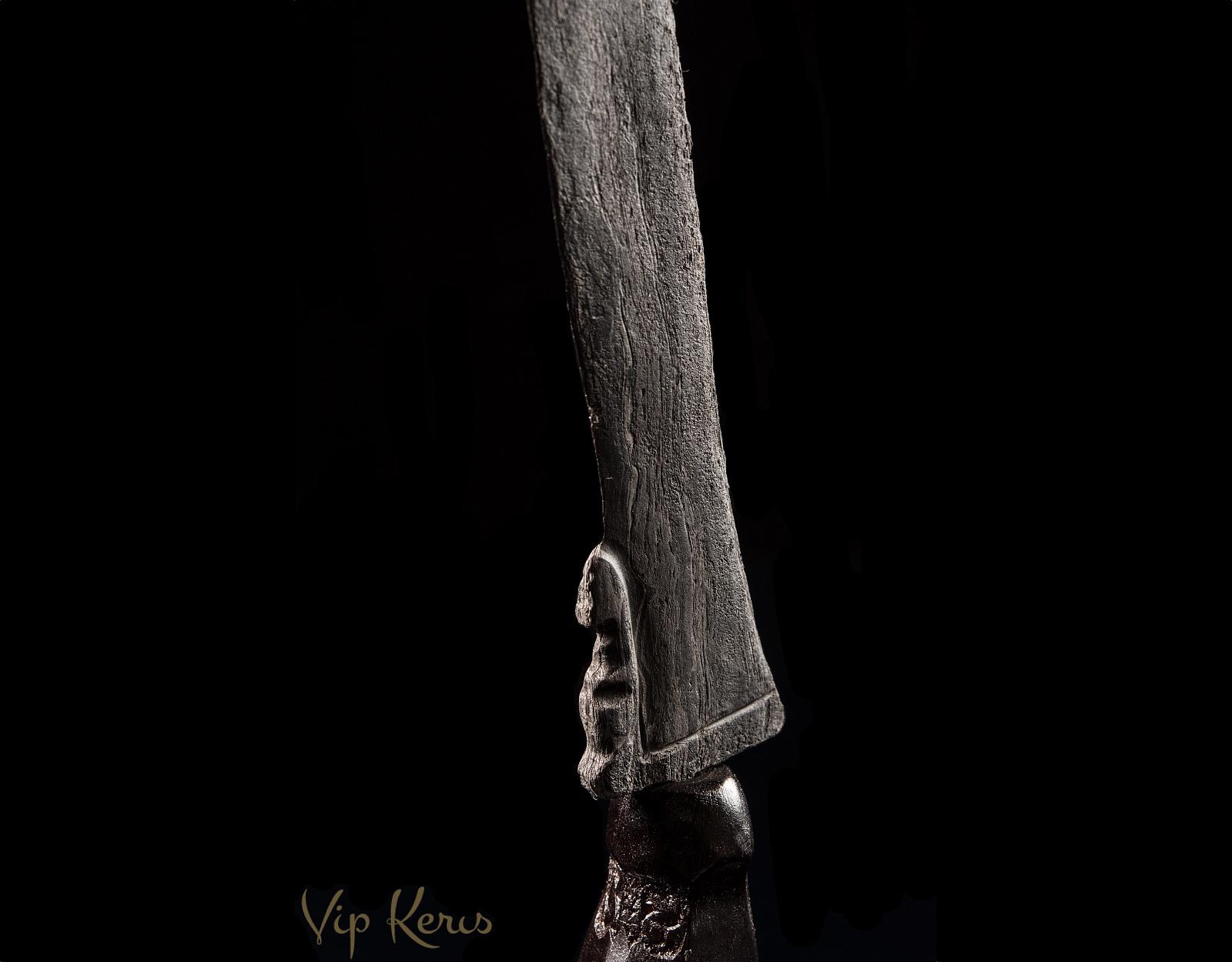 Нож Крис Phutut Sajen, Pengetatan cahaya фото VipKeris