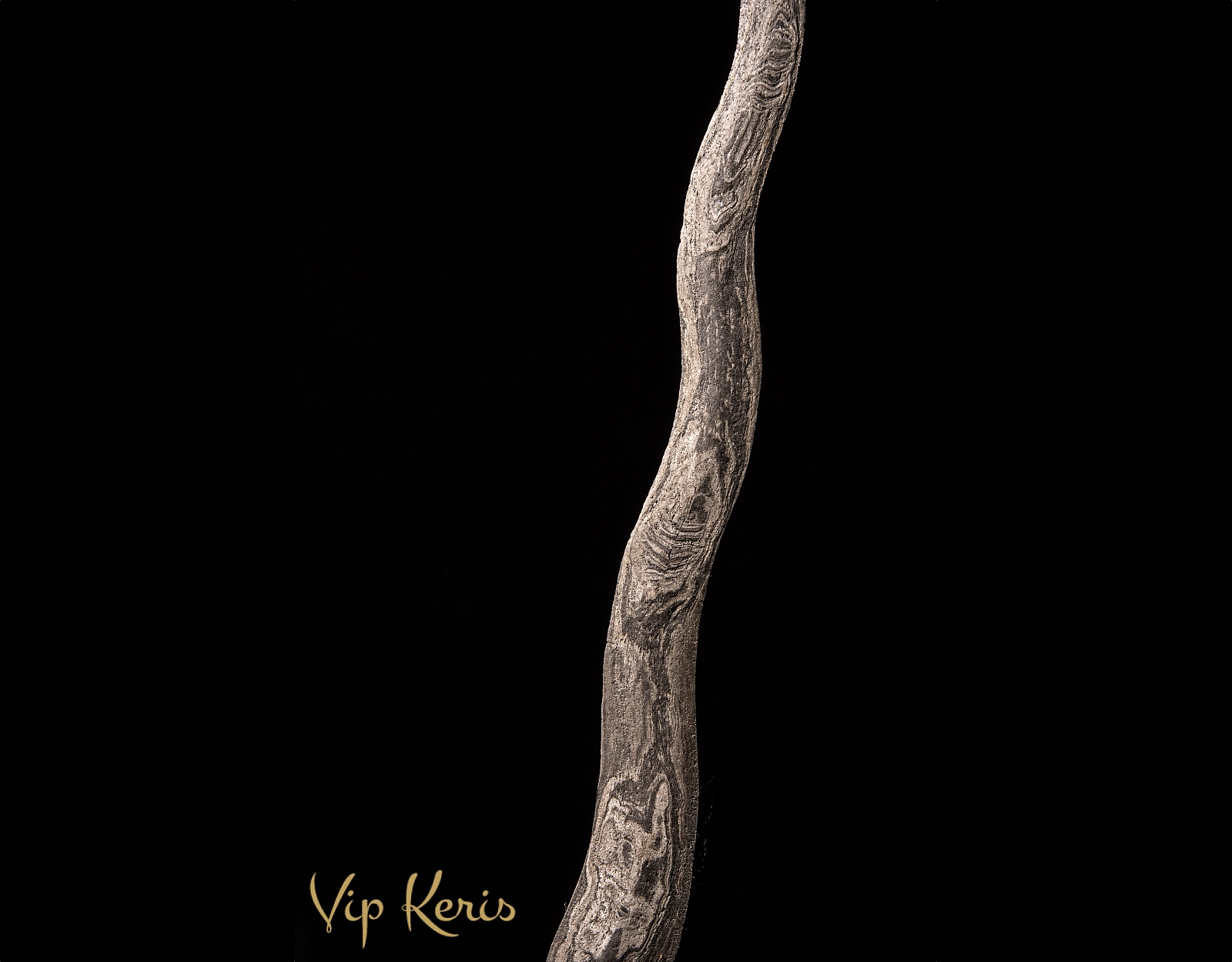 Пламевидный кинжал Крис Sempono фото VipKeris