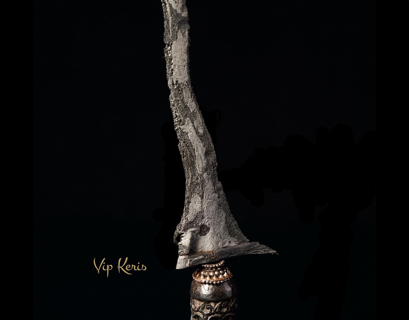 Ритуальный кинжал Крис Sempana Bungkem фото VipKeris