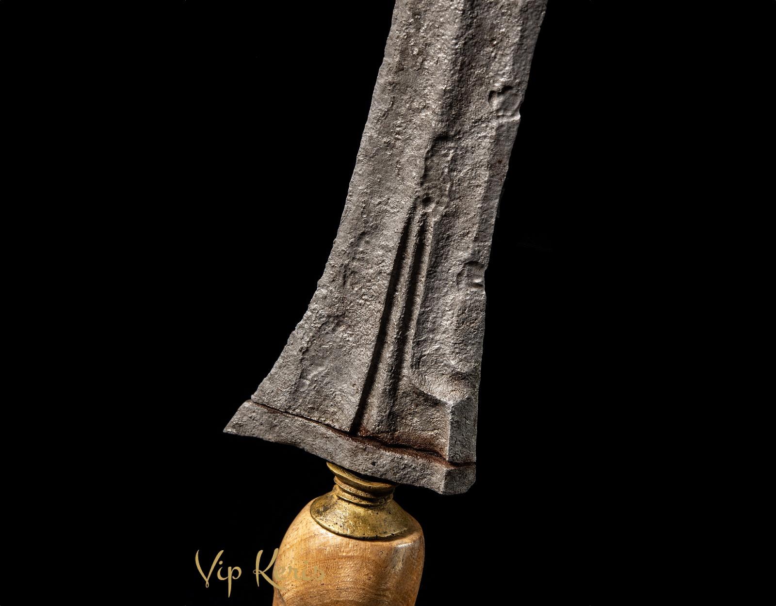 Кинжал Крис из метеоритного железа Jalak Kabudhan фото VipKeris