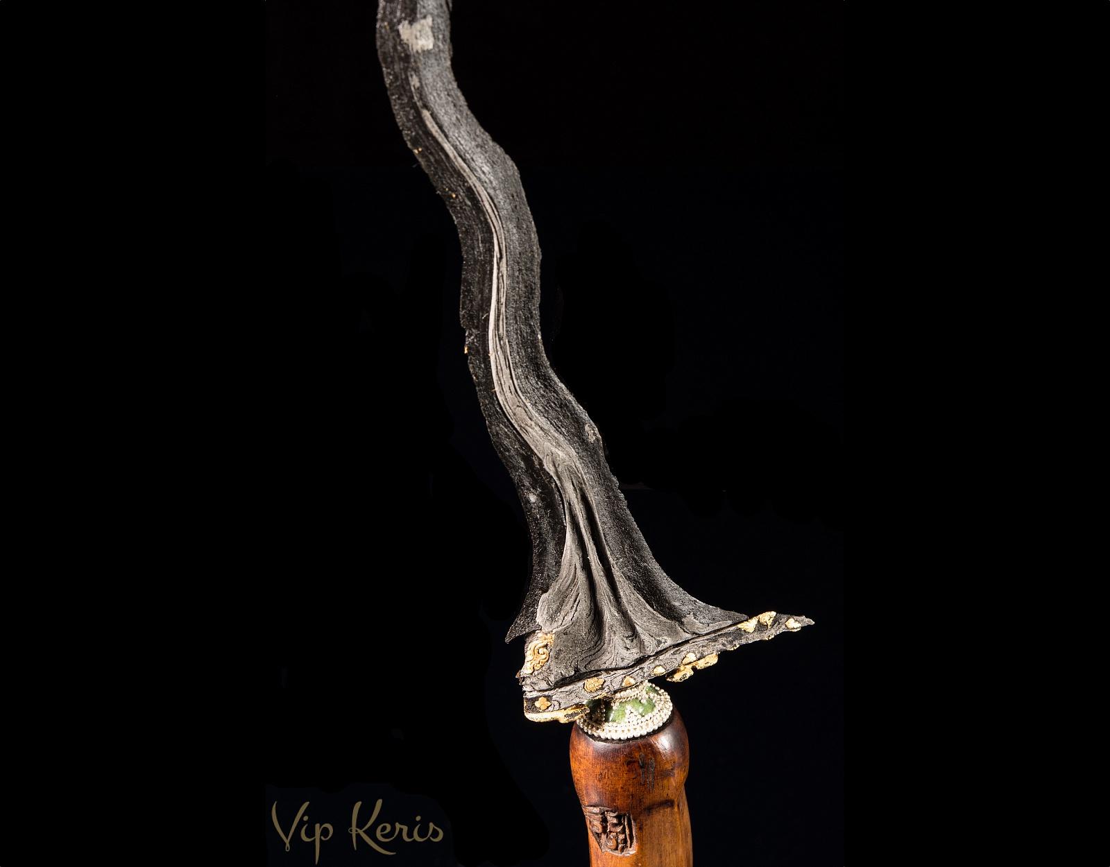 Нож Крис Sengkelat Kinatah Panji Wilis фото VipKeris
